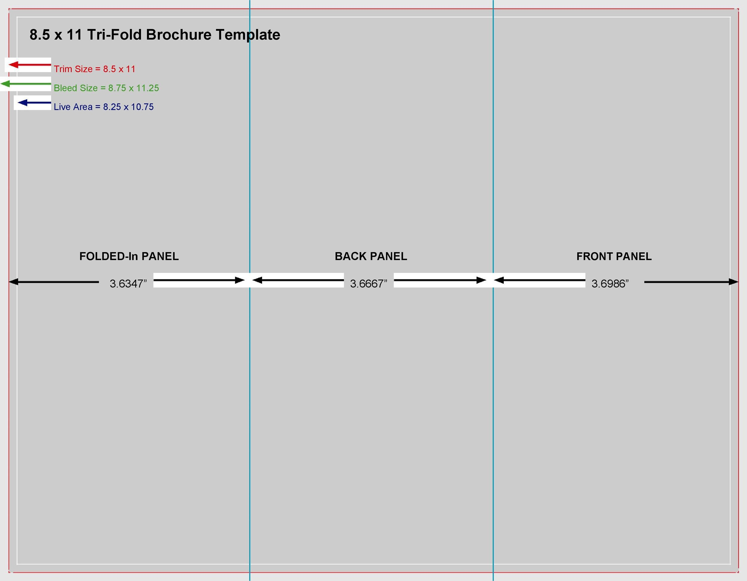 Free pamphlet template 14