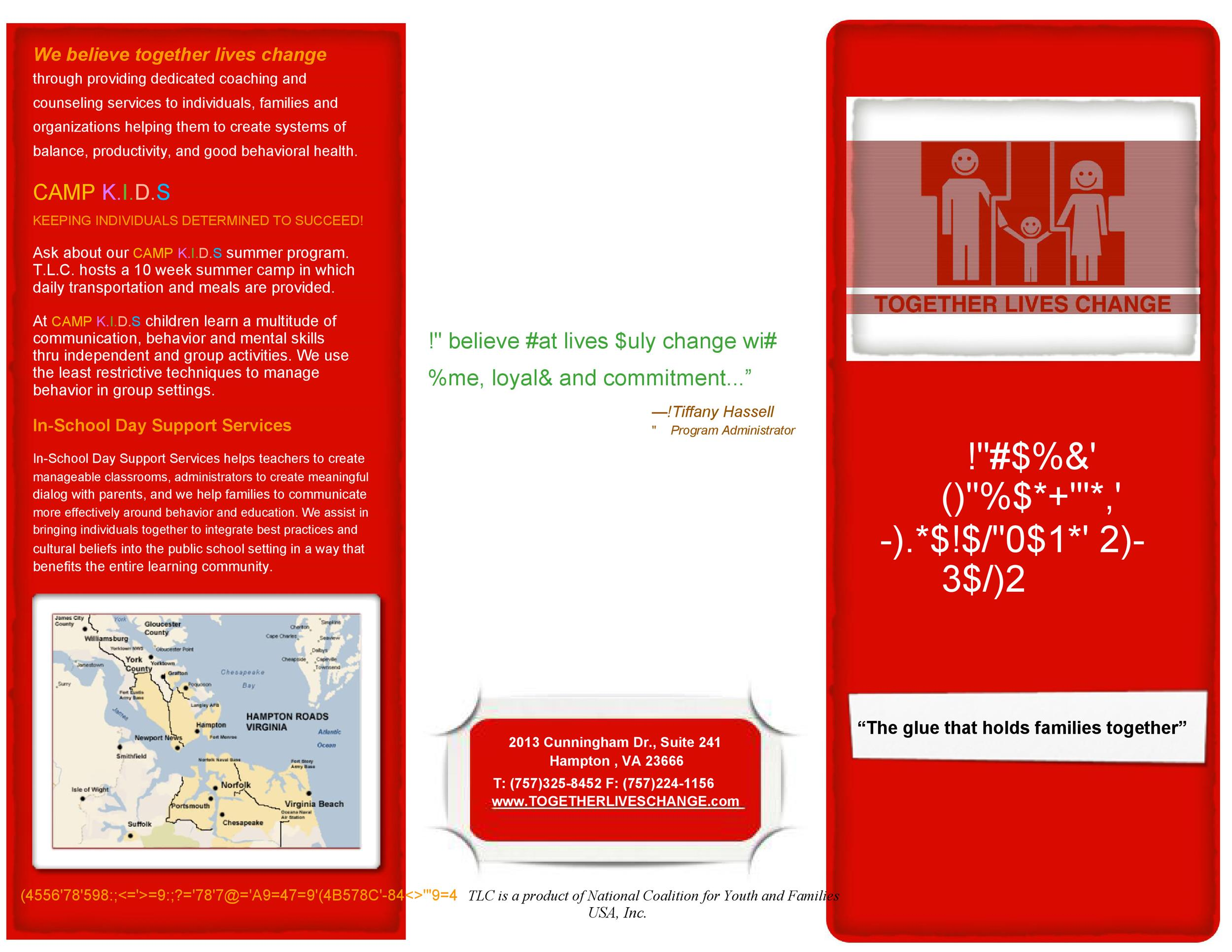 Free pamphlet template 44