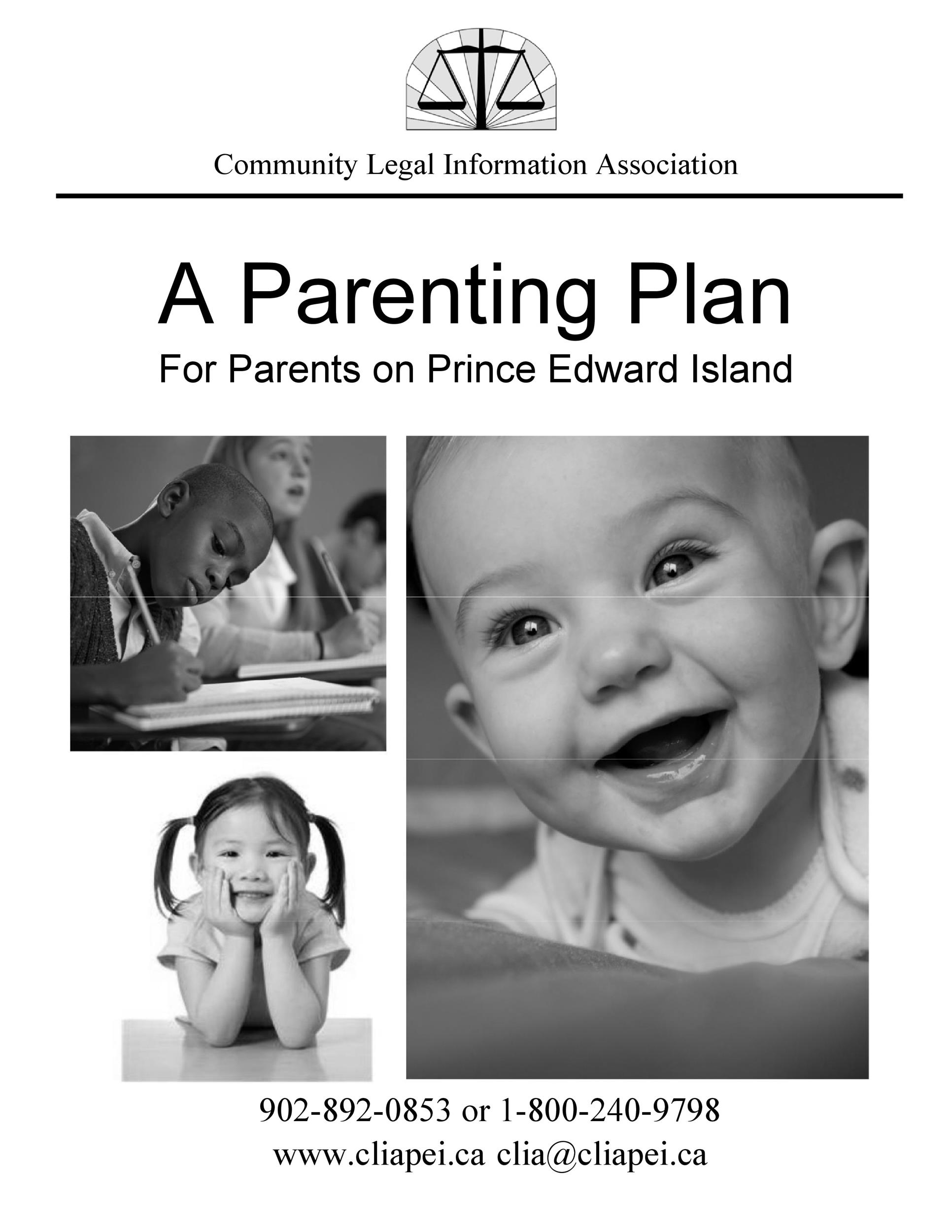 Free parenting plan template 34