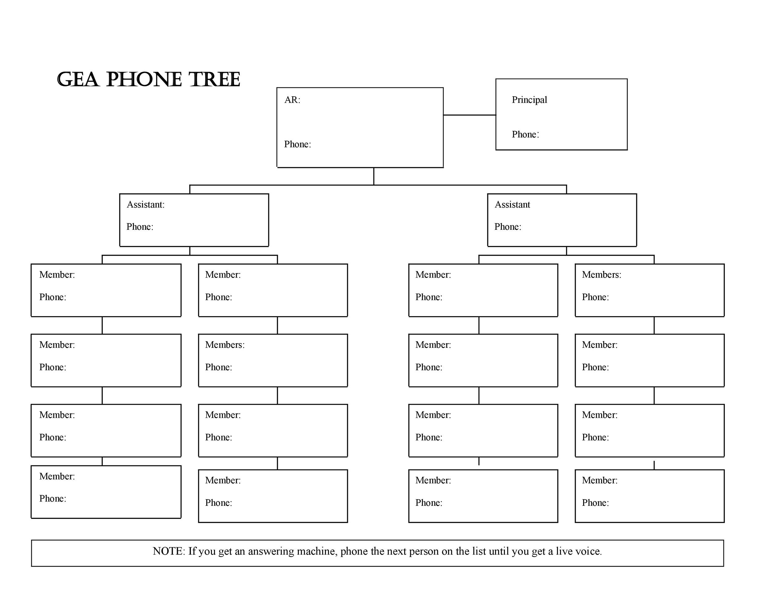 Free phone tree template 35