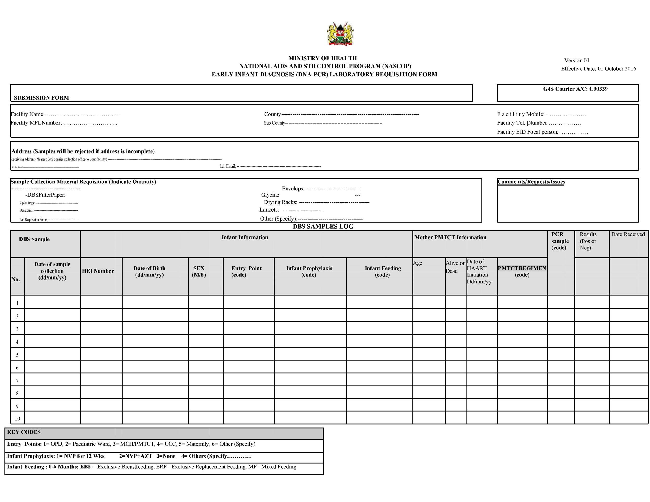 Free requisition form 46