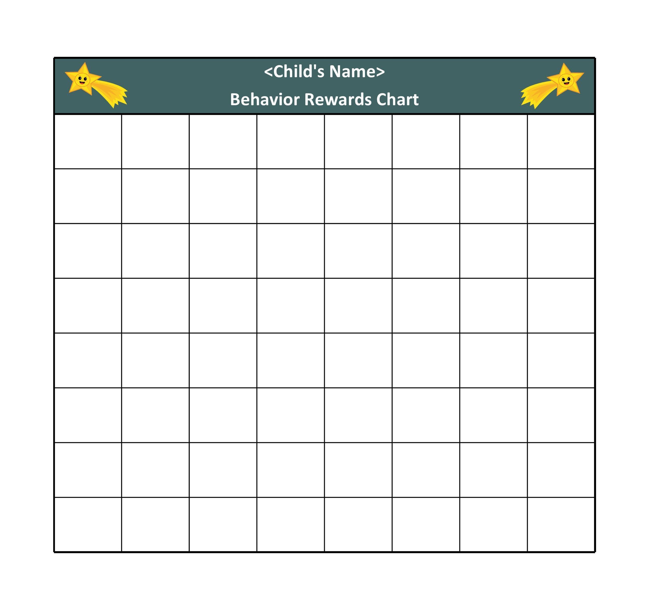 Free reward chart 07
