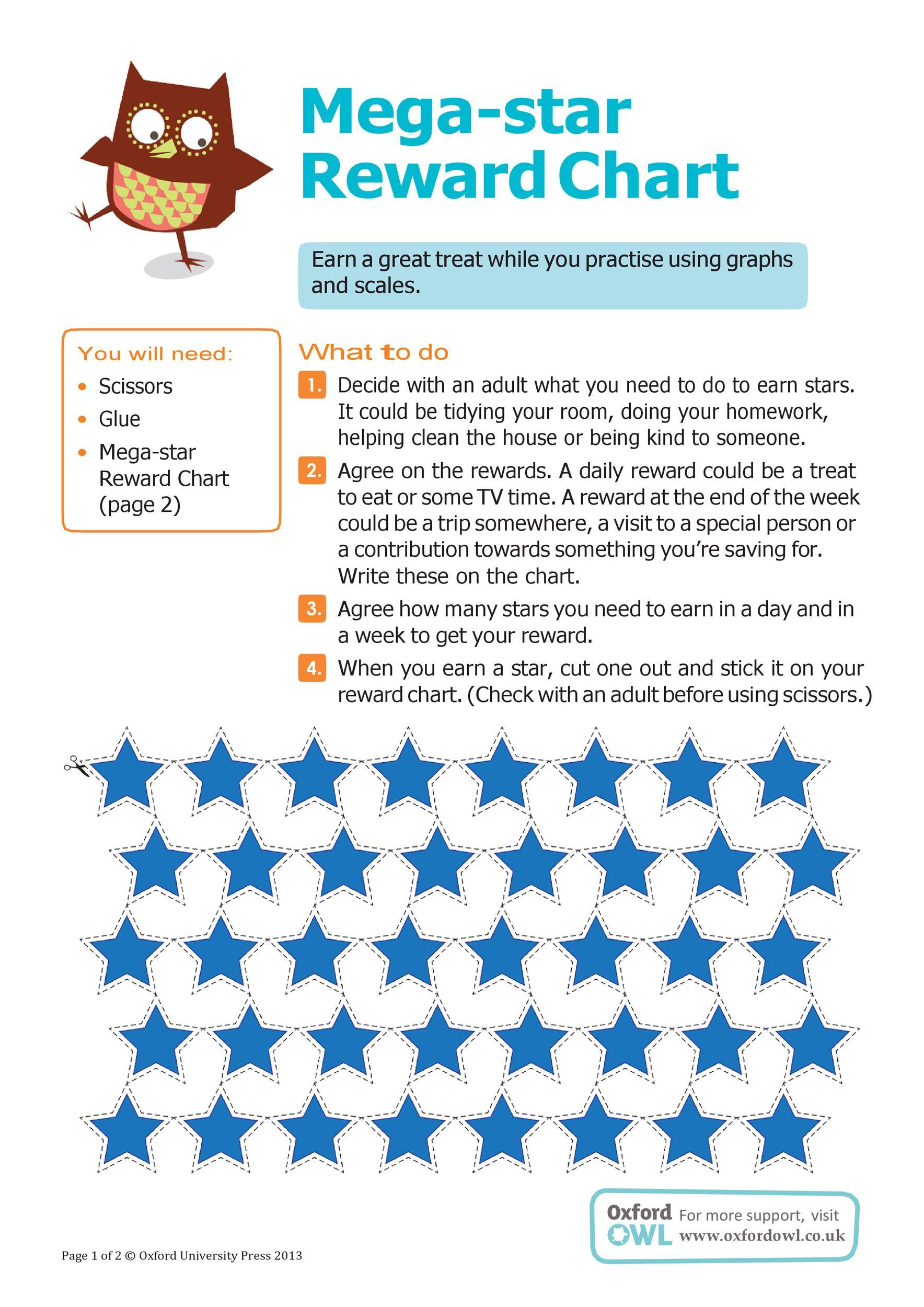 Free reward chart 20