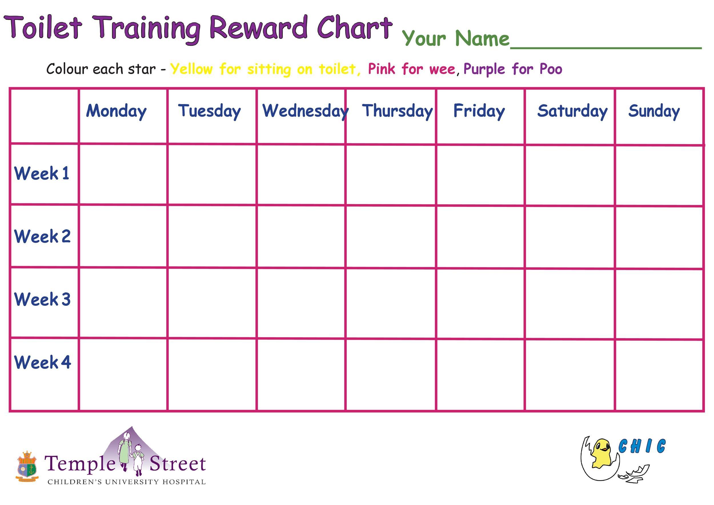 Free reward chart 21