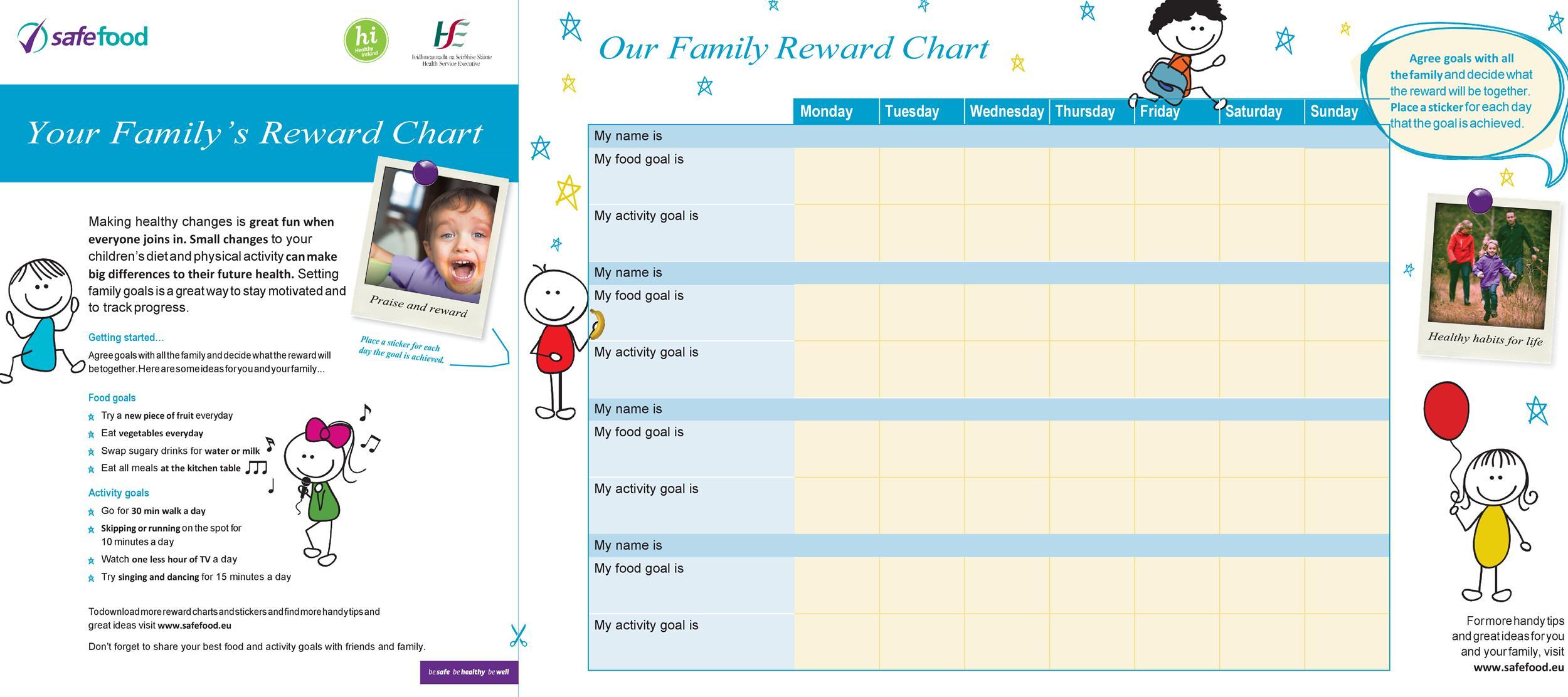 Free reward chart 27