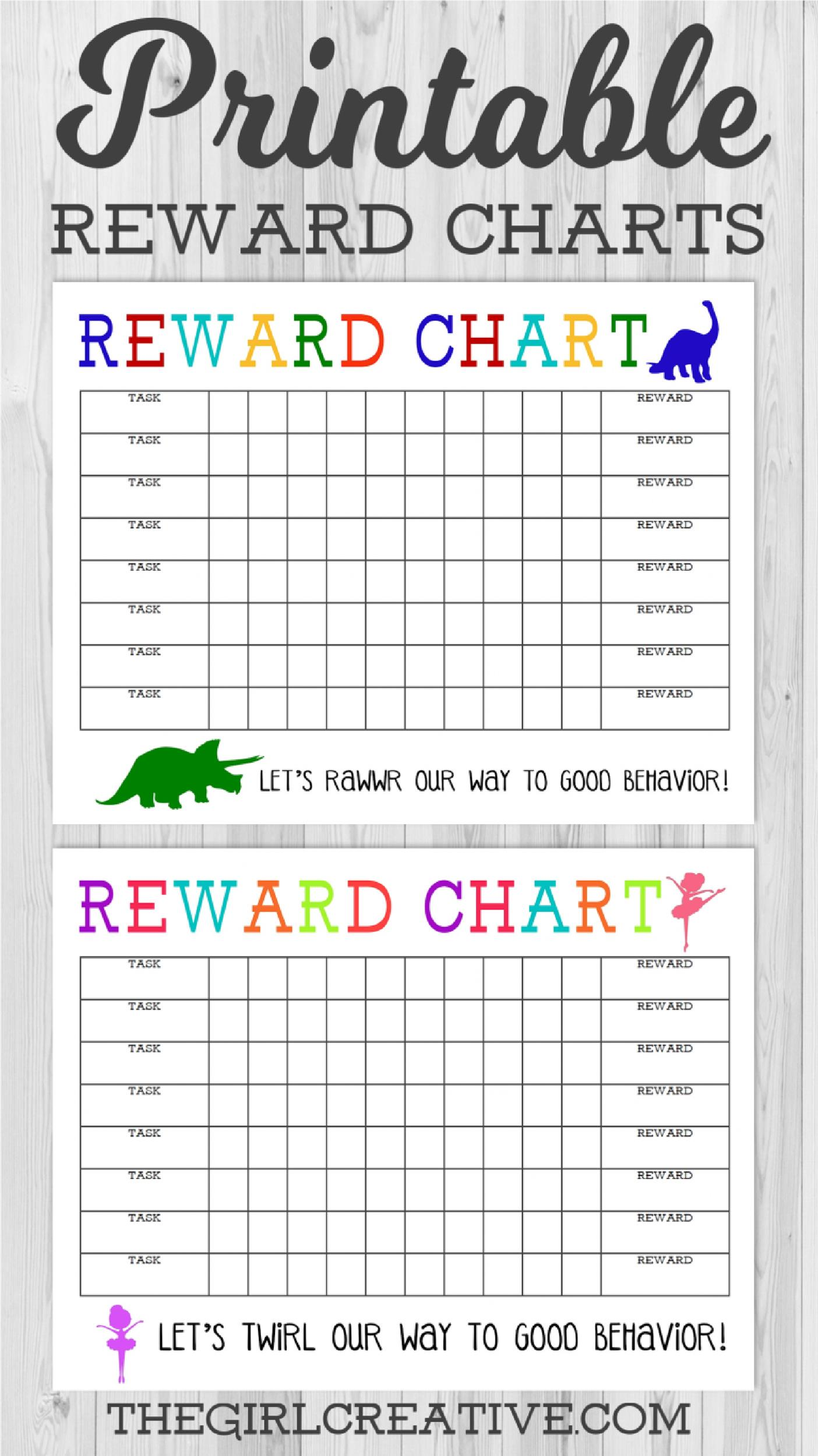 image about Sticker Chart Printable Pdf identify 40 Printable Benefit Charts for Little ones (PDF, Excel Phrase)