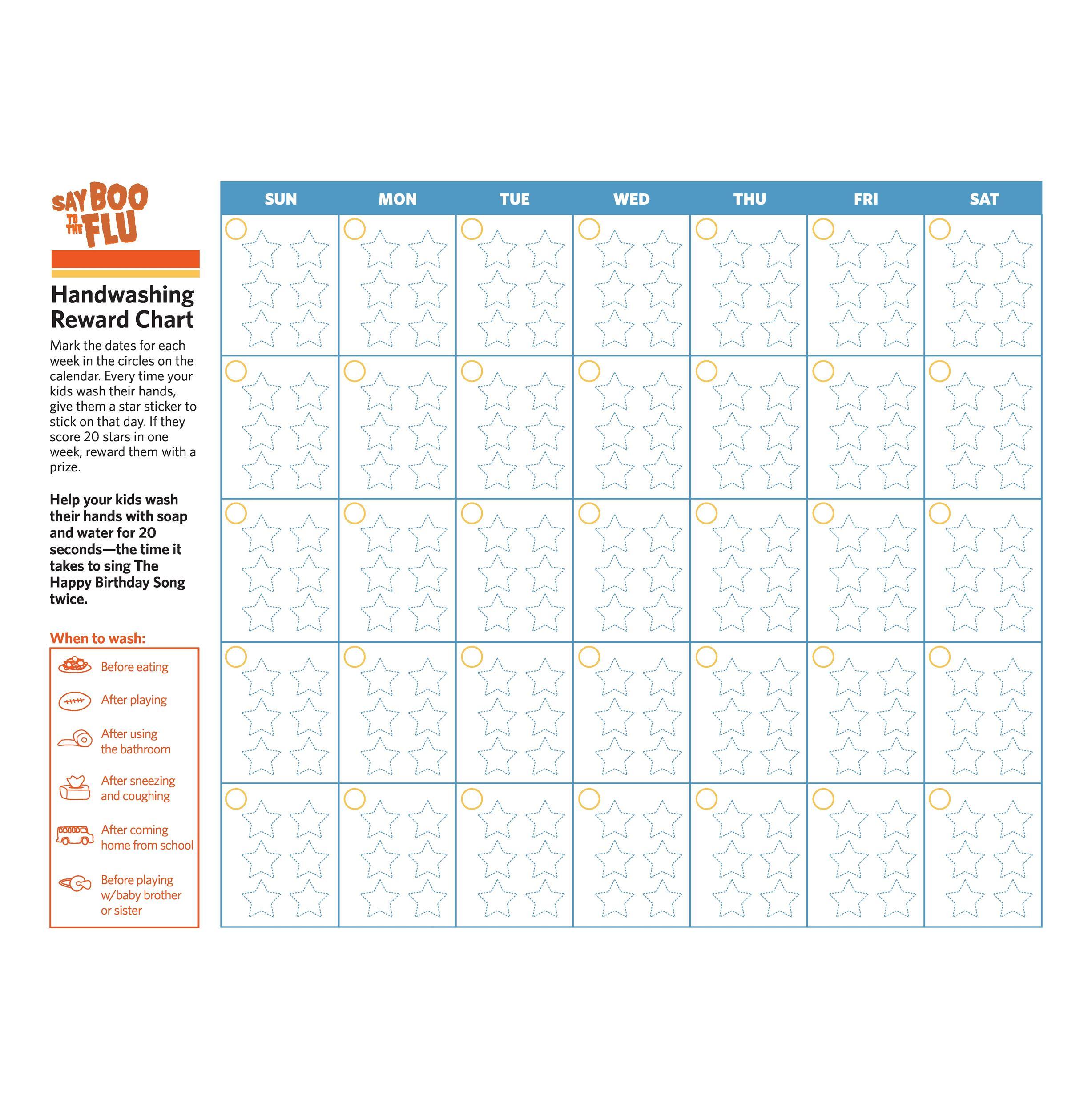 Free reward chart 36