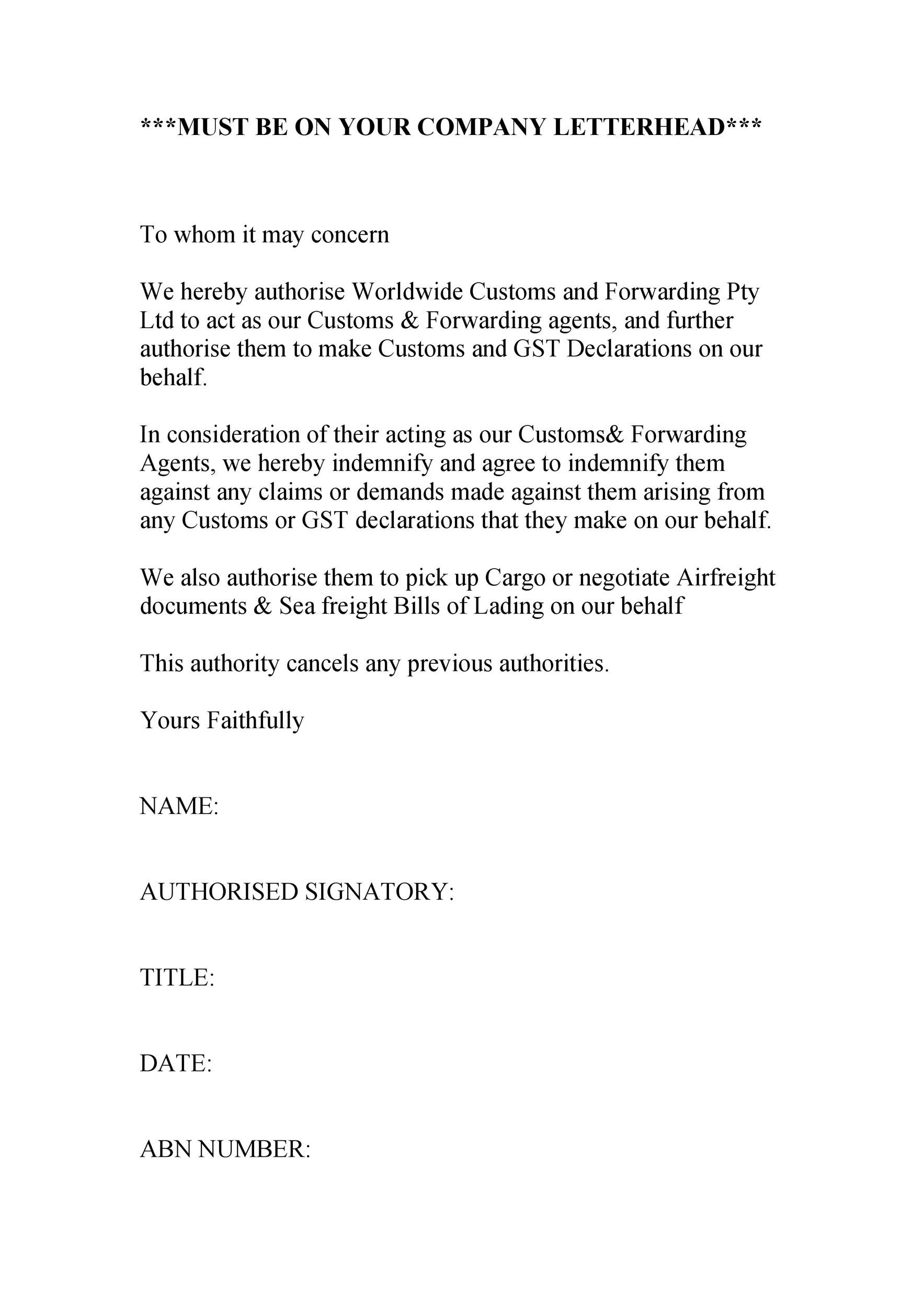 Free to whom it may concern letter 39
