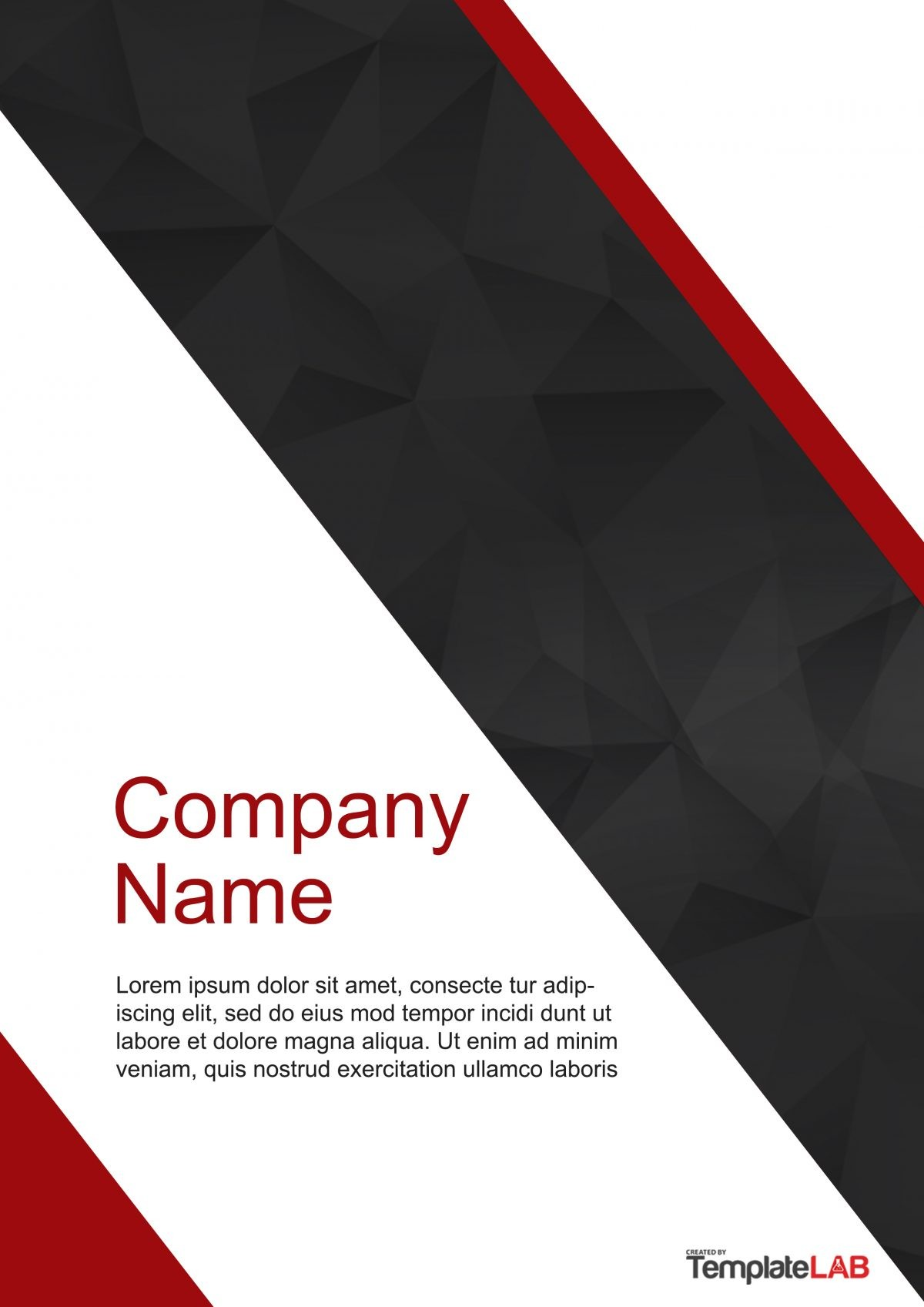 Free Cover Page Template 2 - TemplateLab