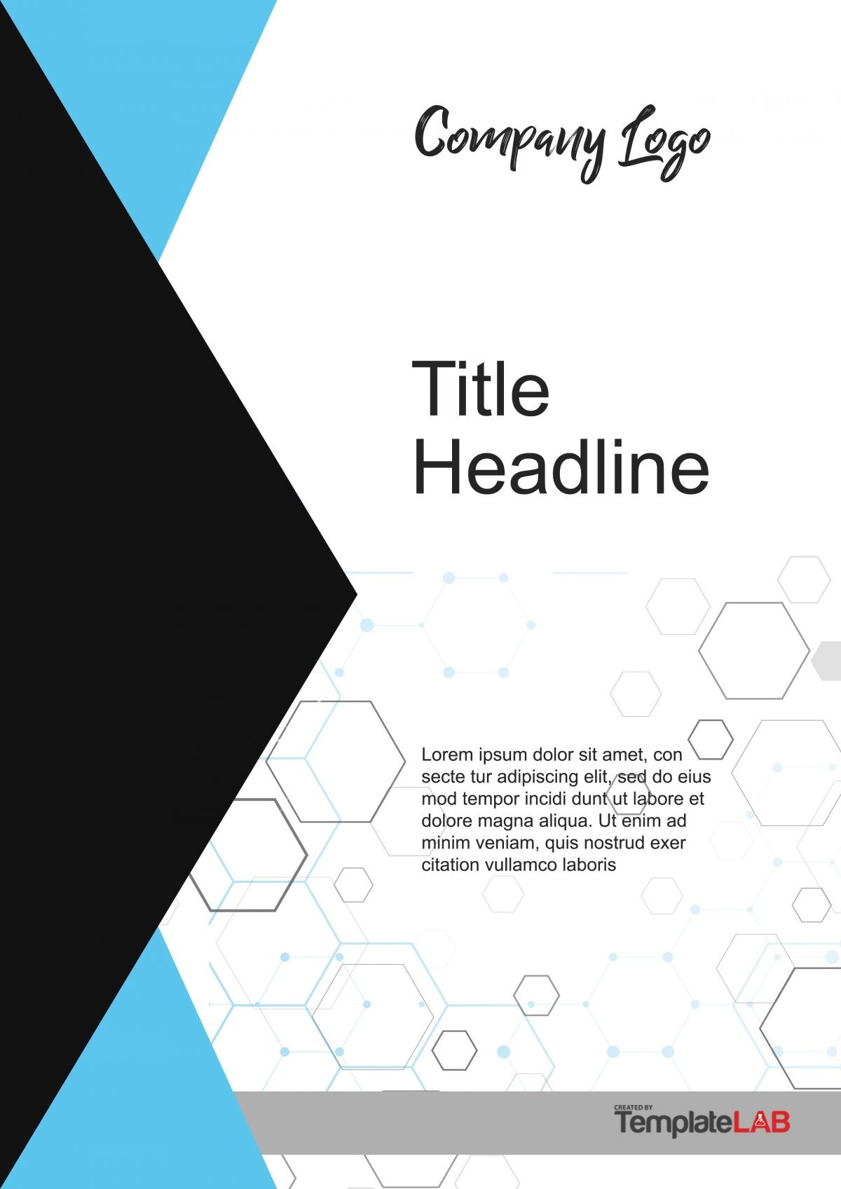 Free Cover Page Template 5