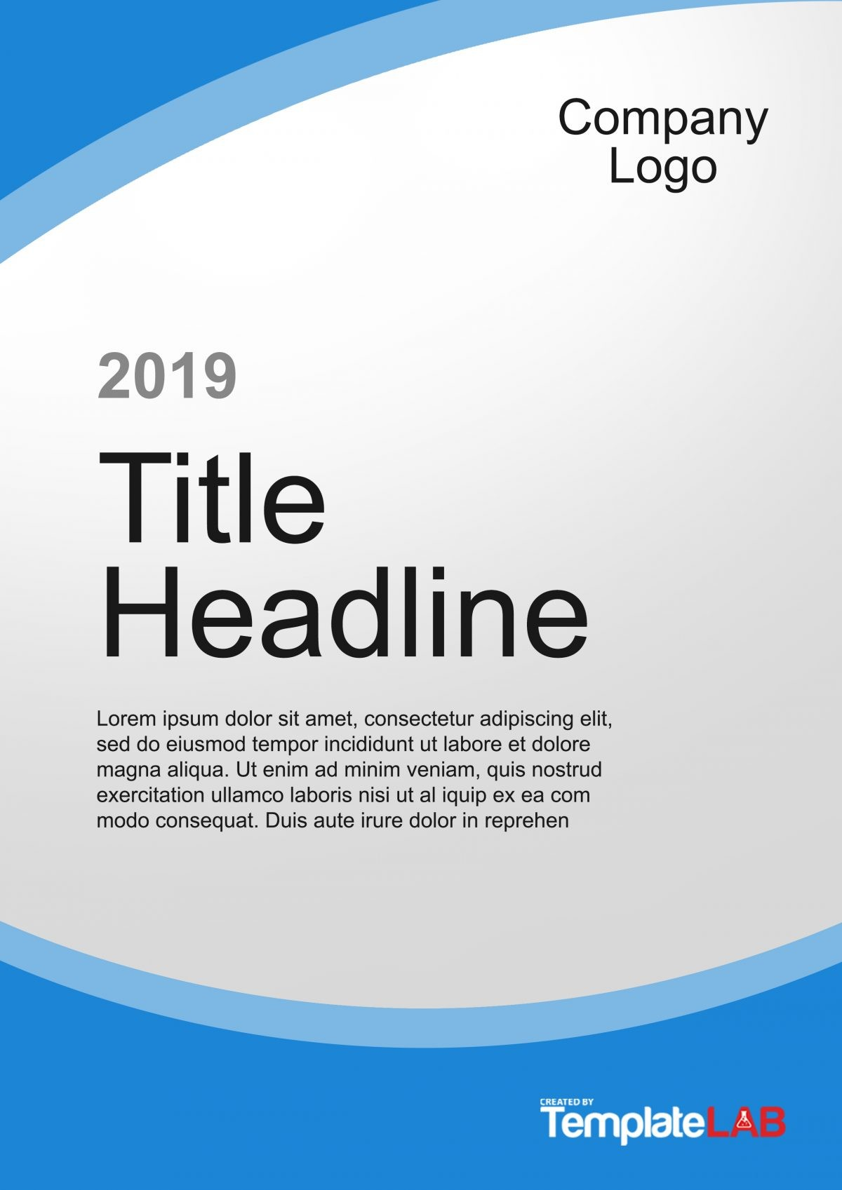 Free Cover Page Template 6 - TemplateLab