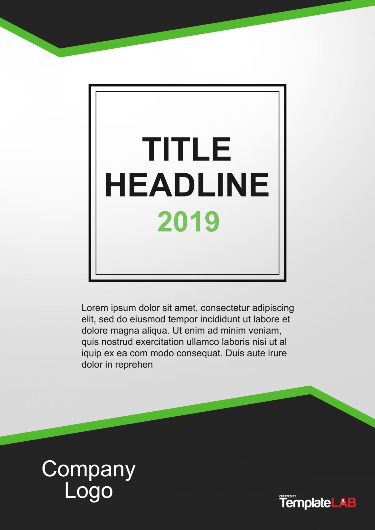 Free Cover Page Template 7 - TemplateLab