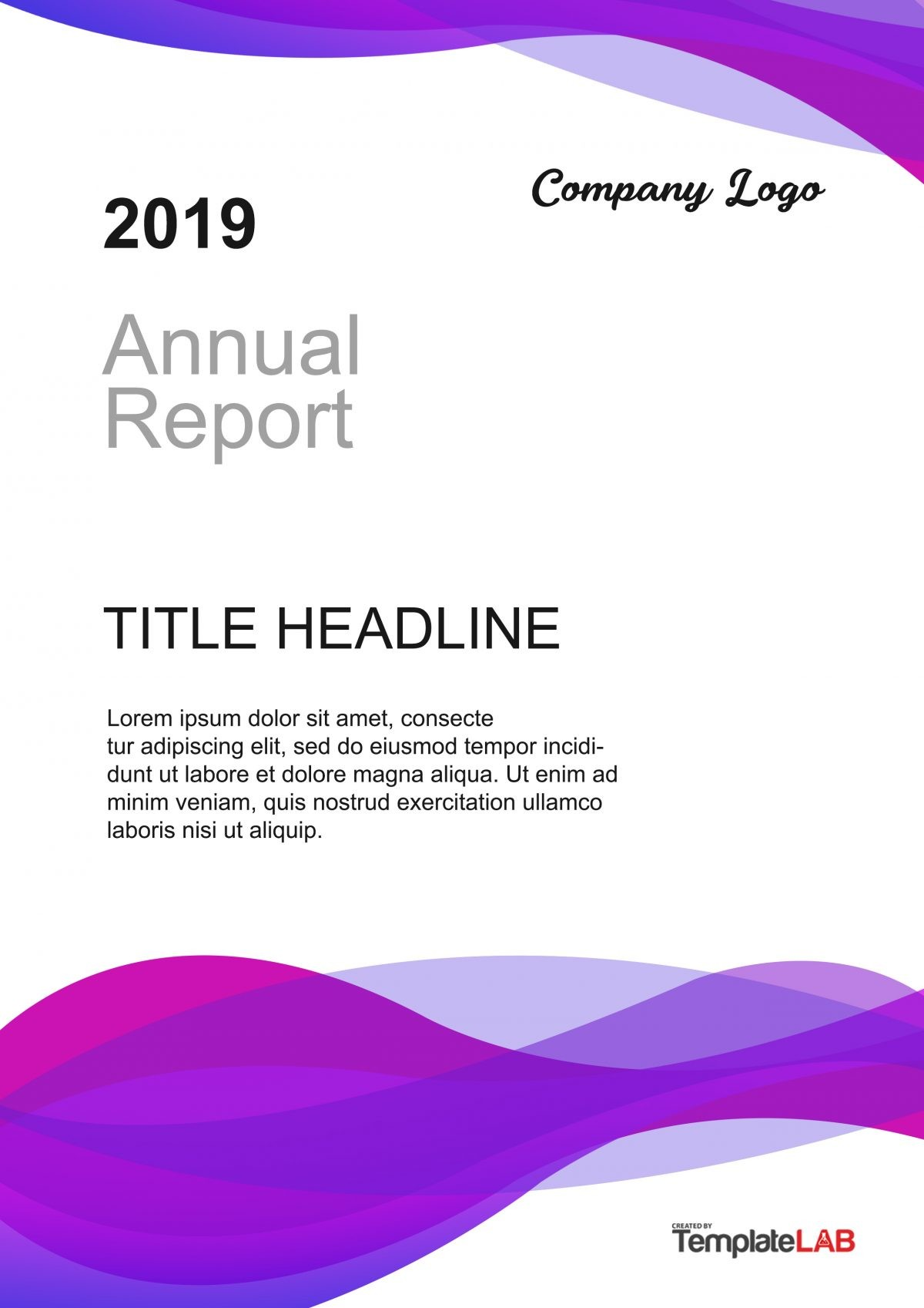 Free Report Cover Page 3 - TemplateLab