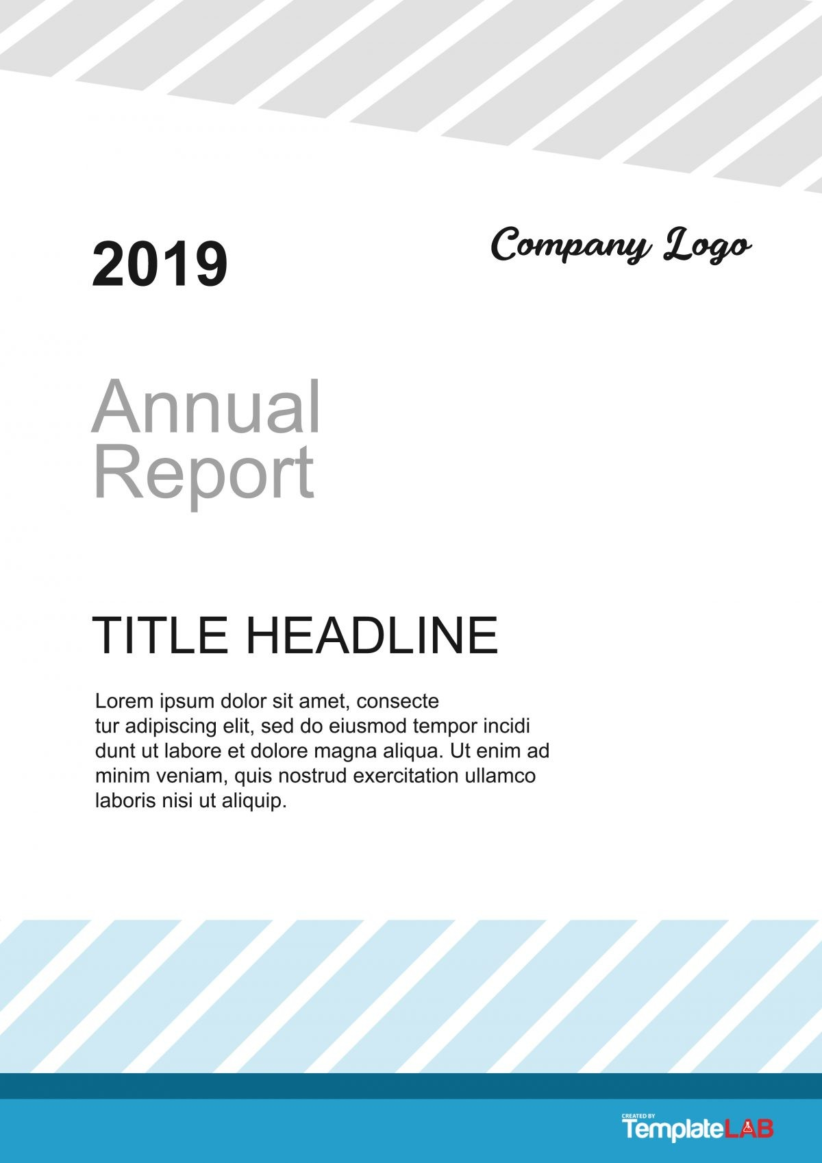 Free Report Cover Page 4 - TemplateLab