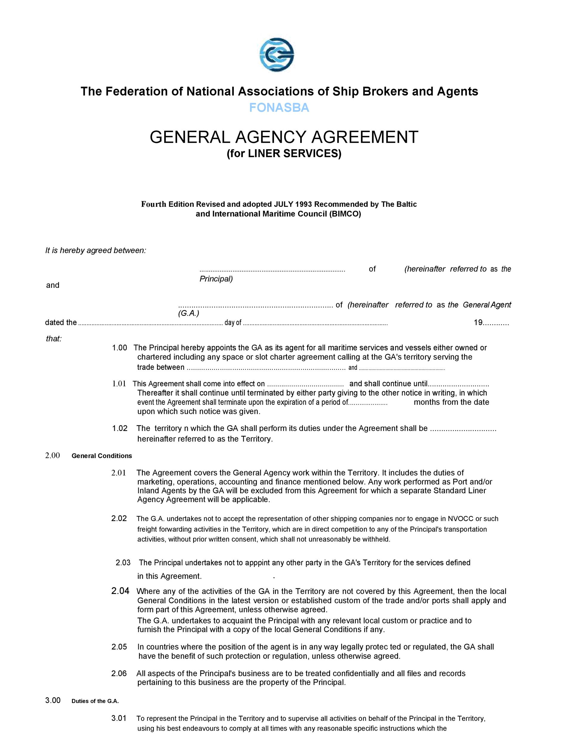 Free agency agreement 17