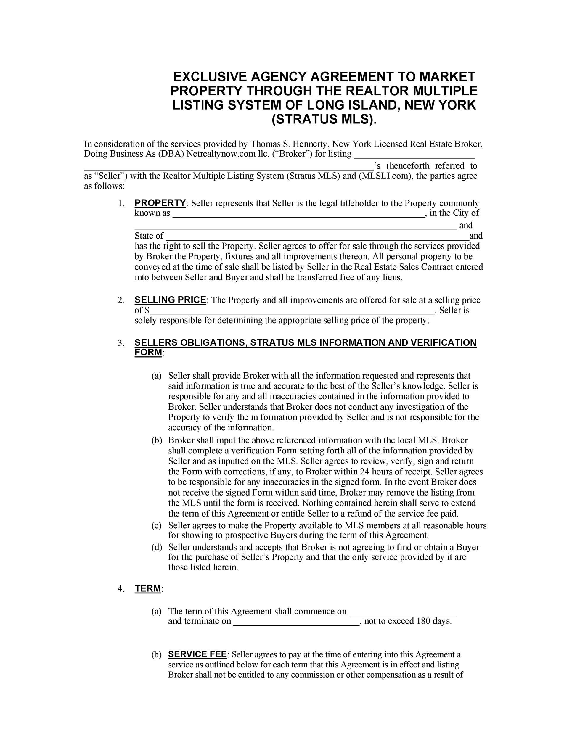 Free agency agreement 23