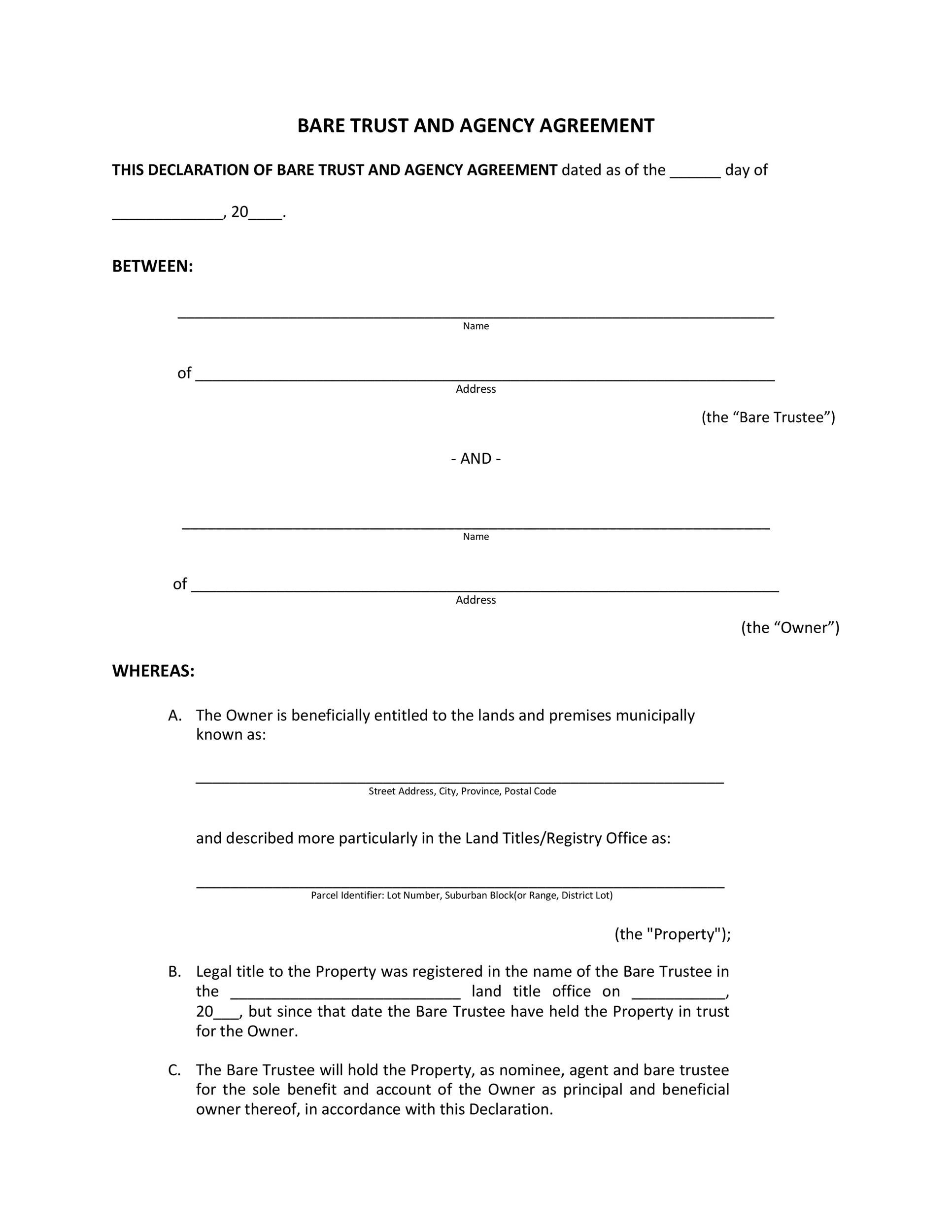 Free agency agreement 26