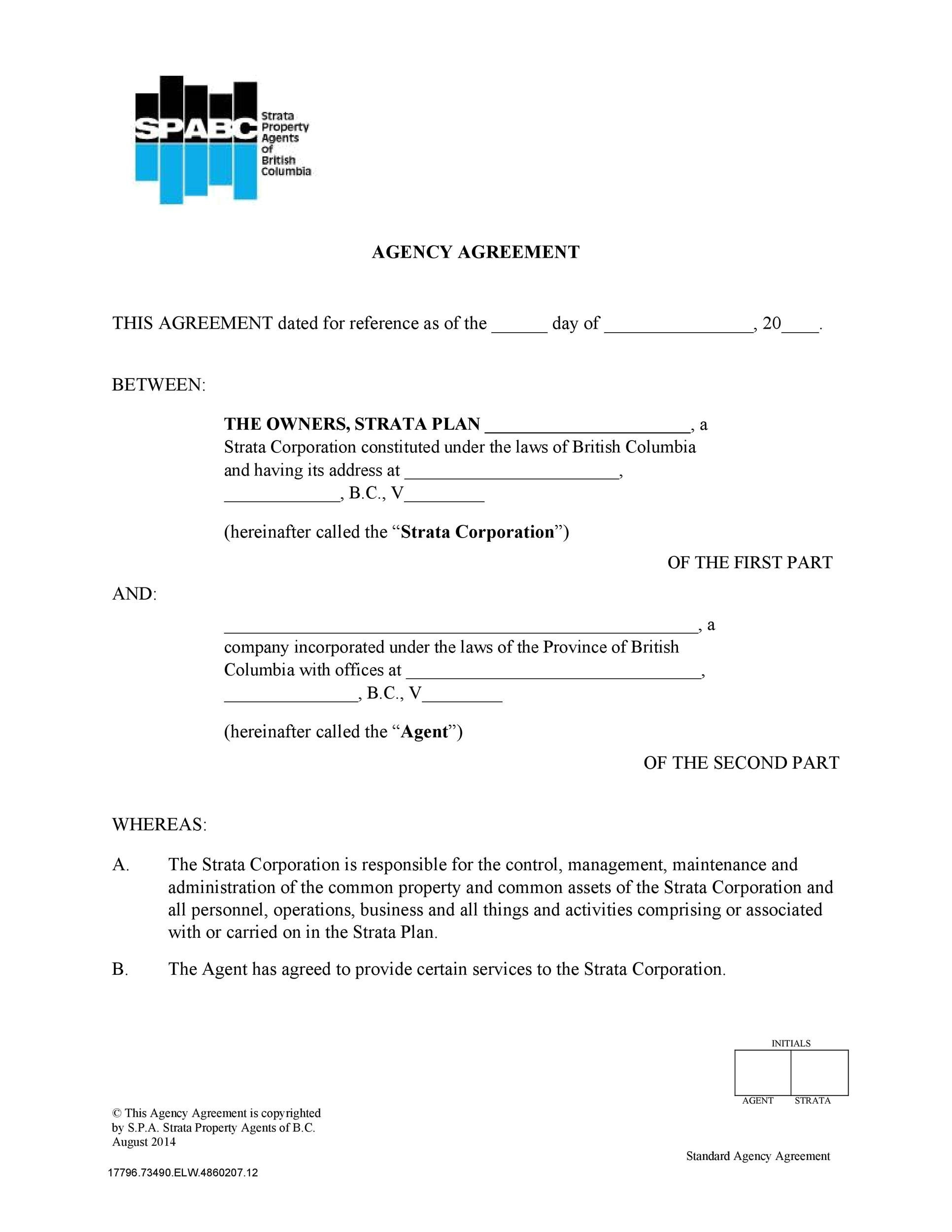 Free agency agreement 29