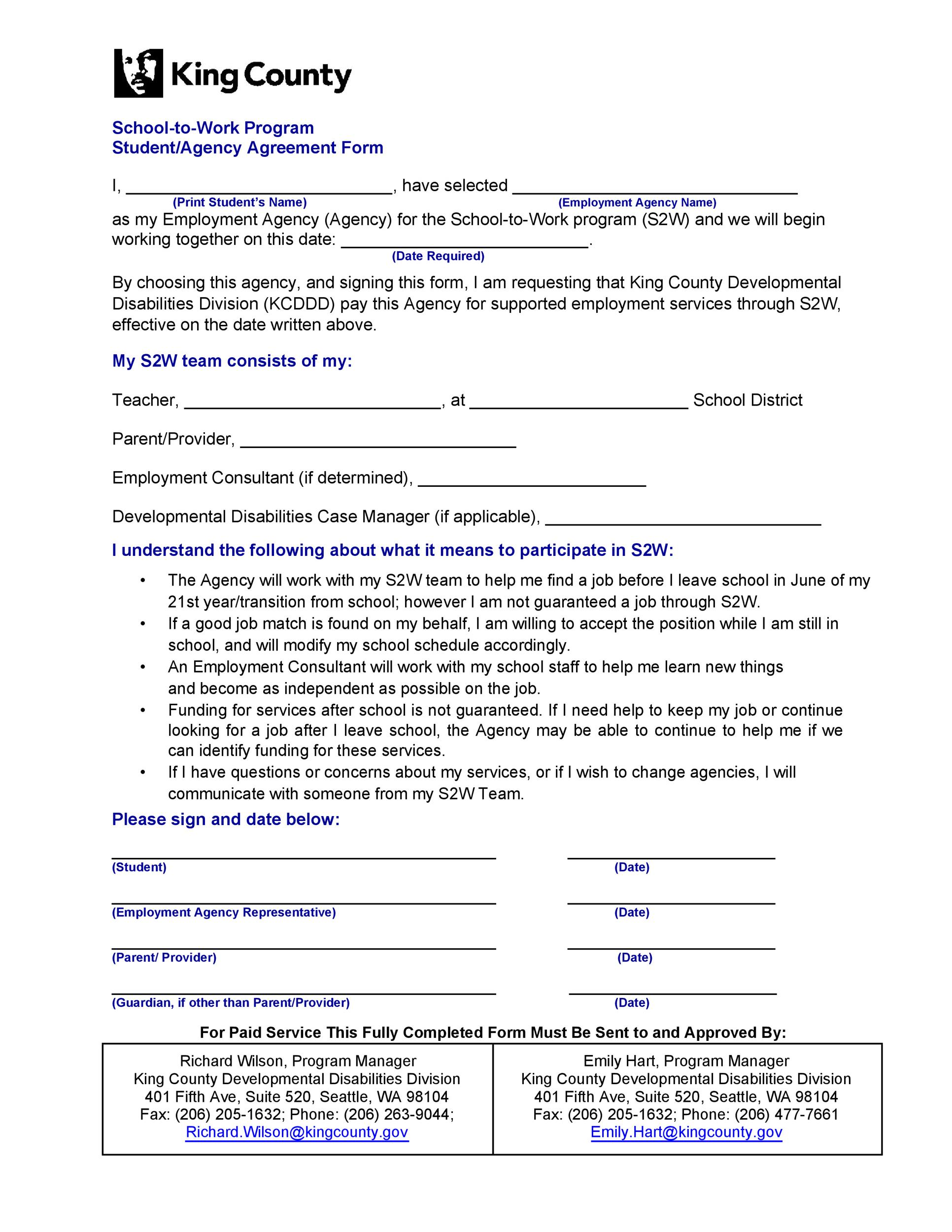 Free agency agreement 33