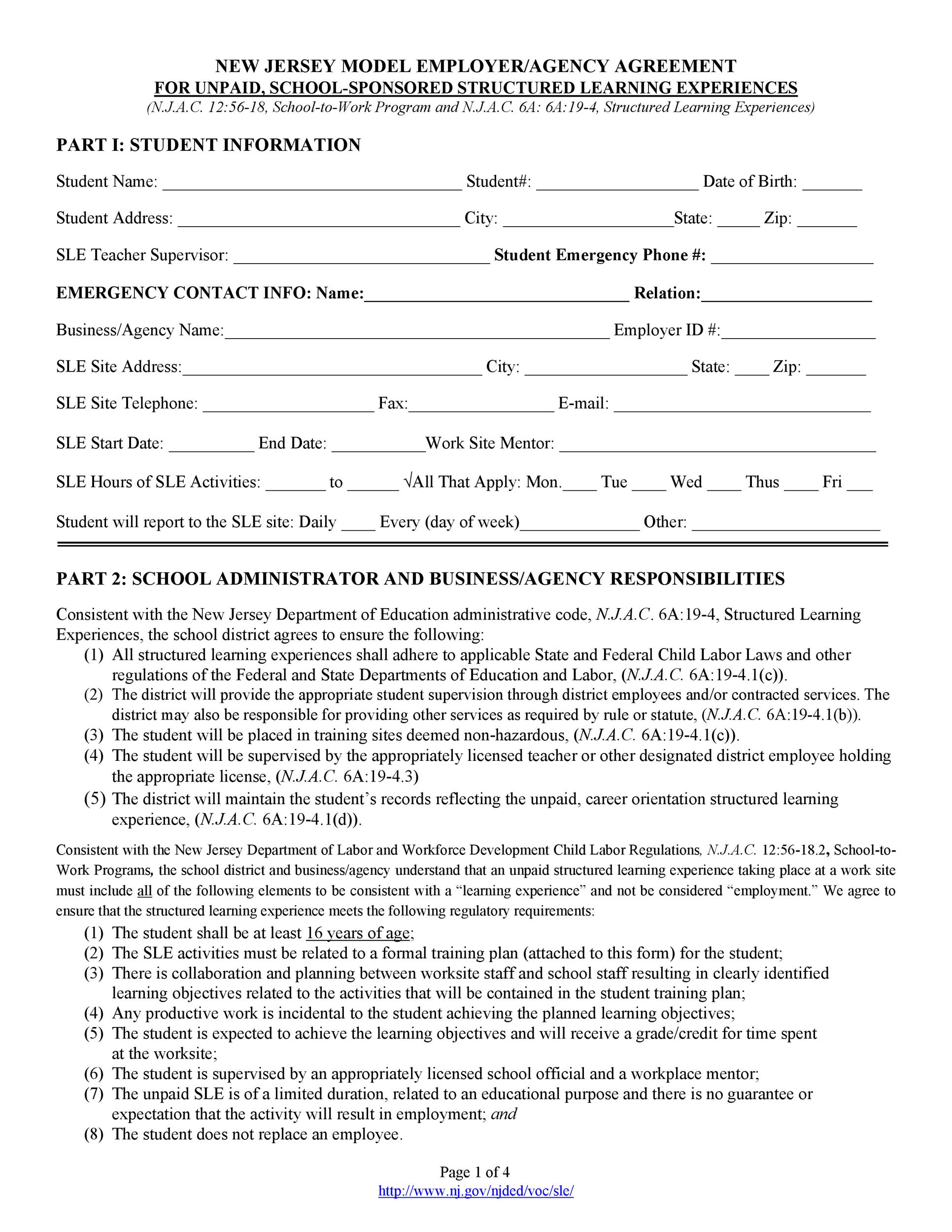 Free agency agreement 40
