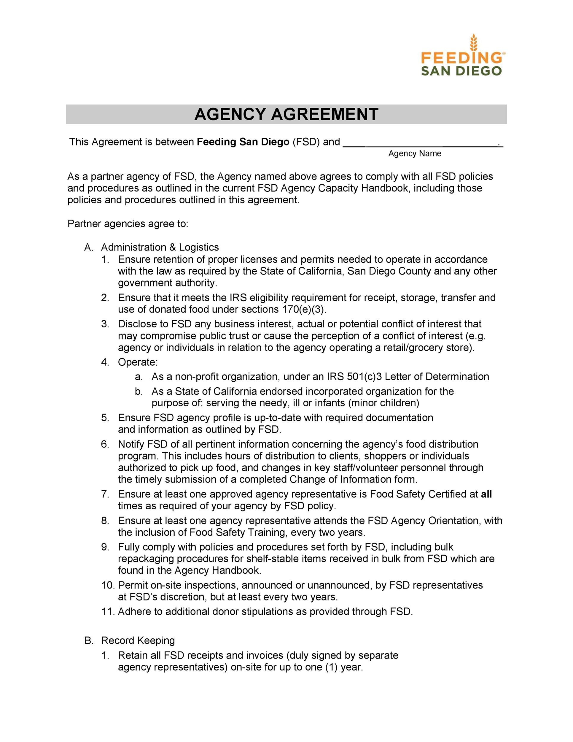 Free agency agreement 41
