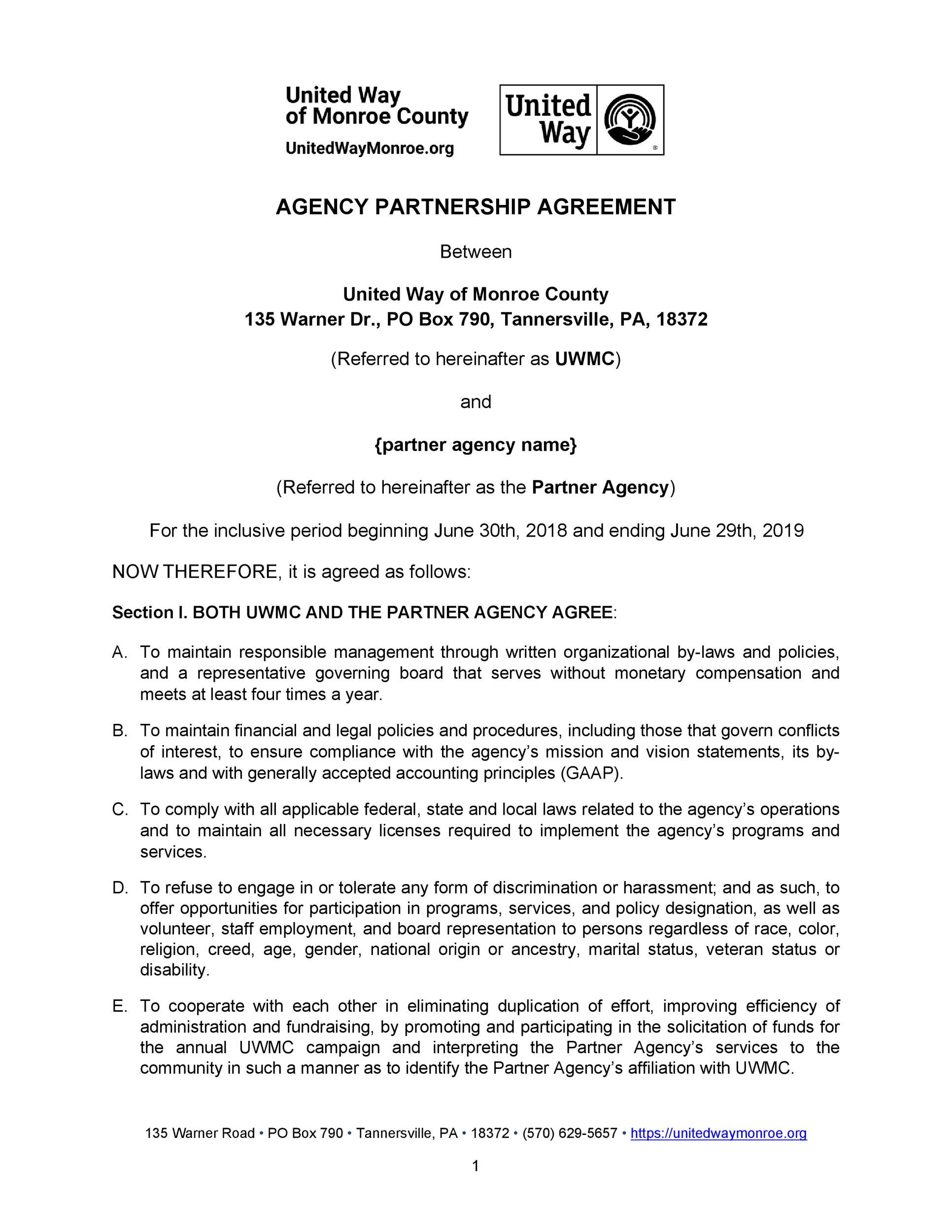 Free agency agreement 50