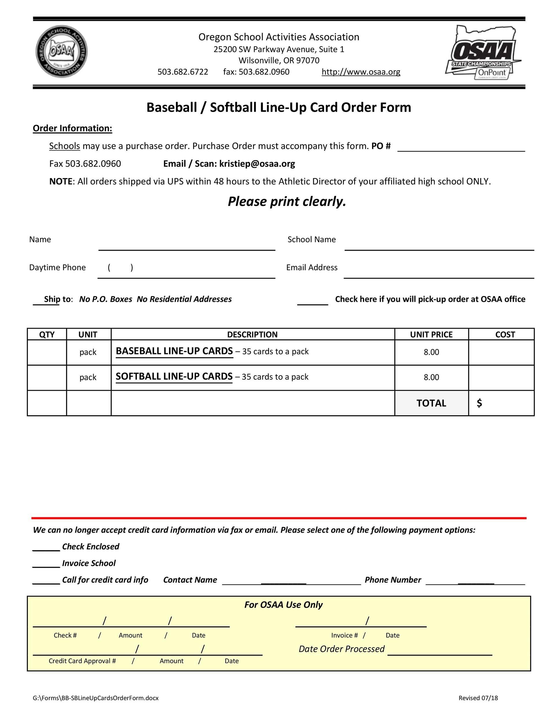 Free baseball lineup template 09