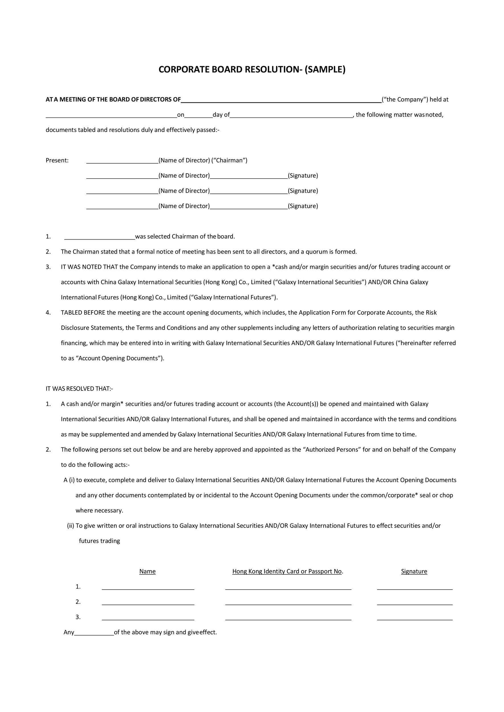 Free board solution template 04