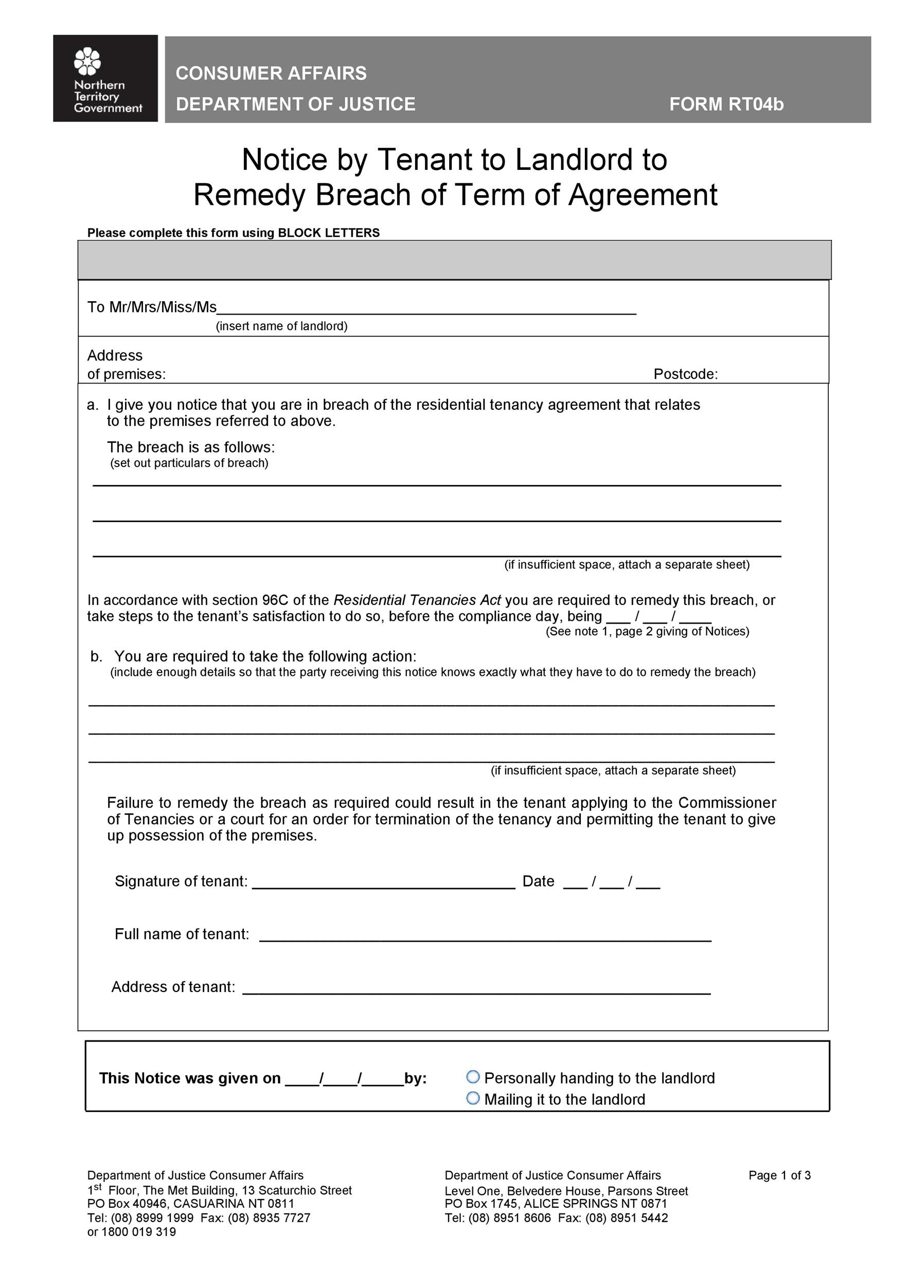 Free breach of contract 29