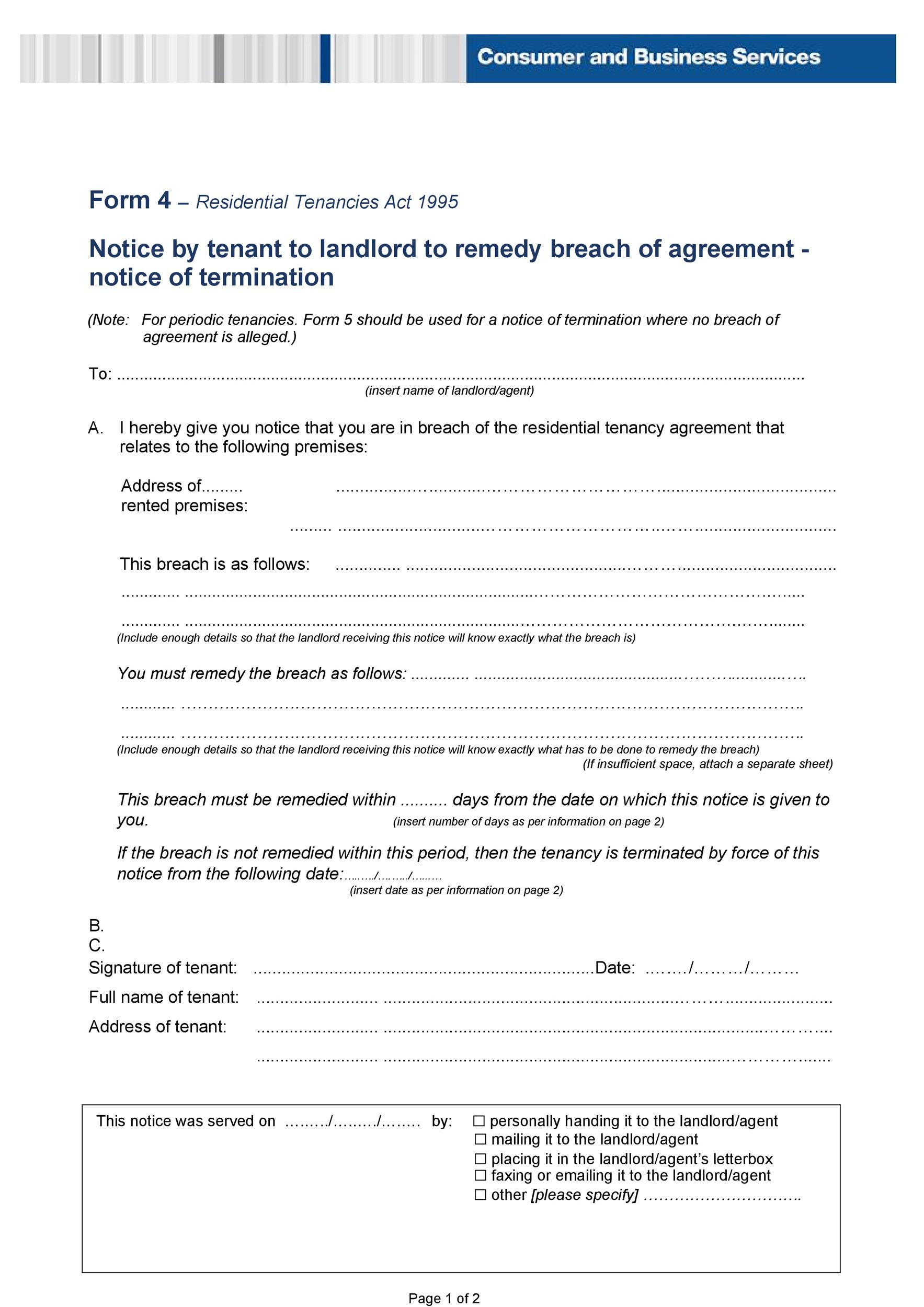 Free breach of contract 31