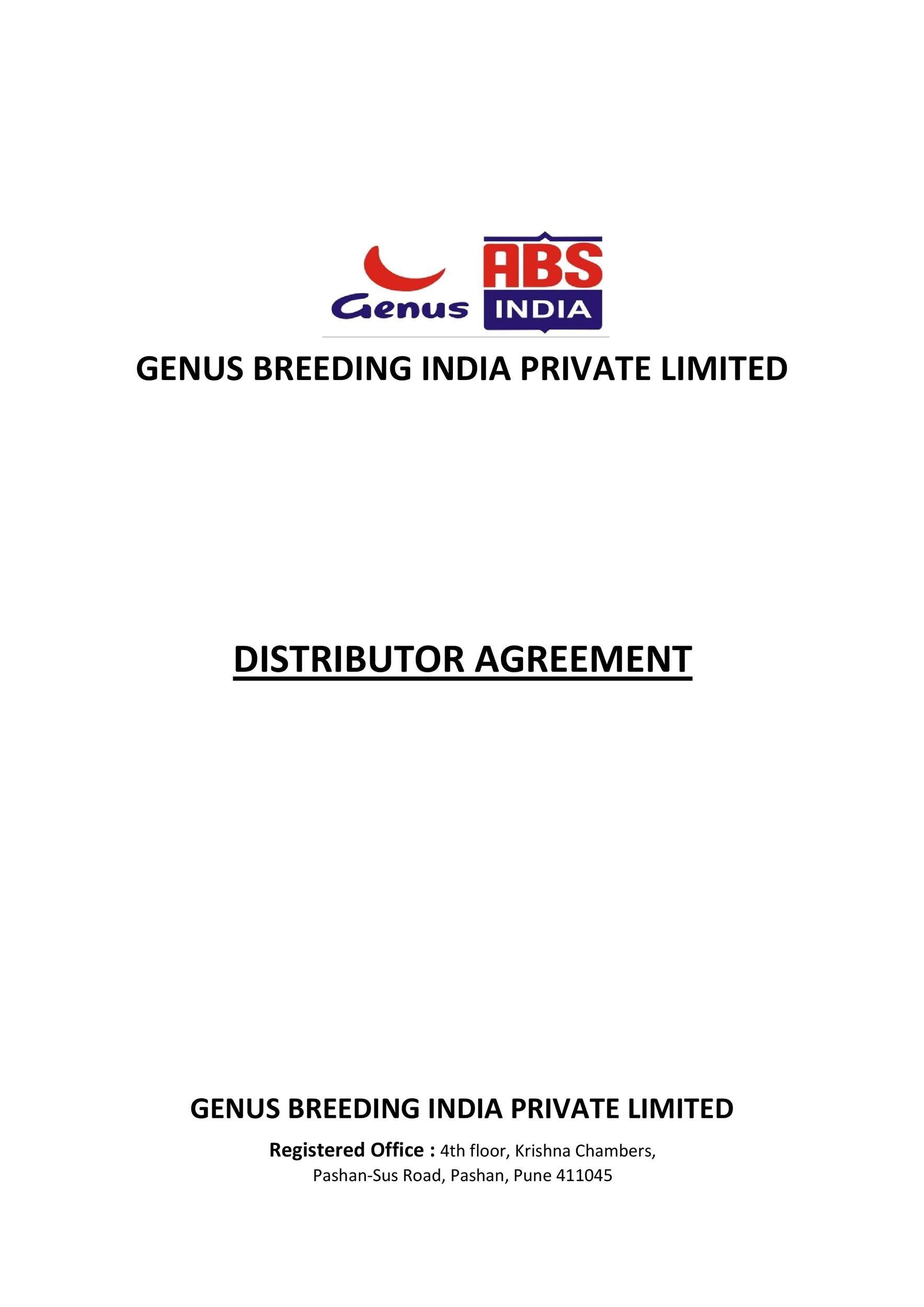 Free distribution agreement 49