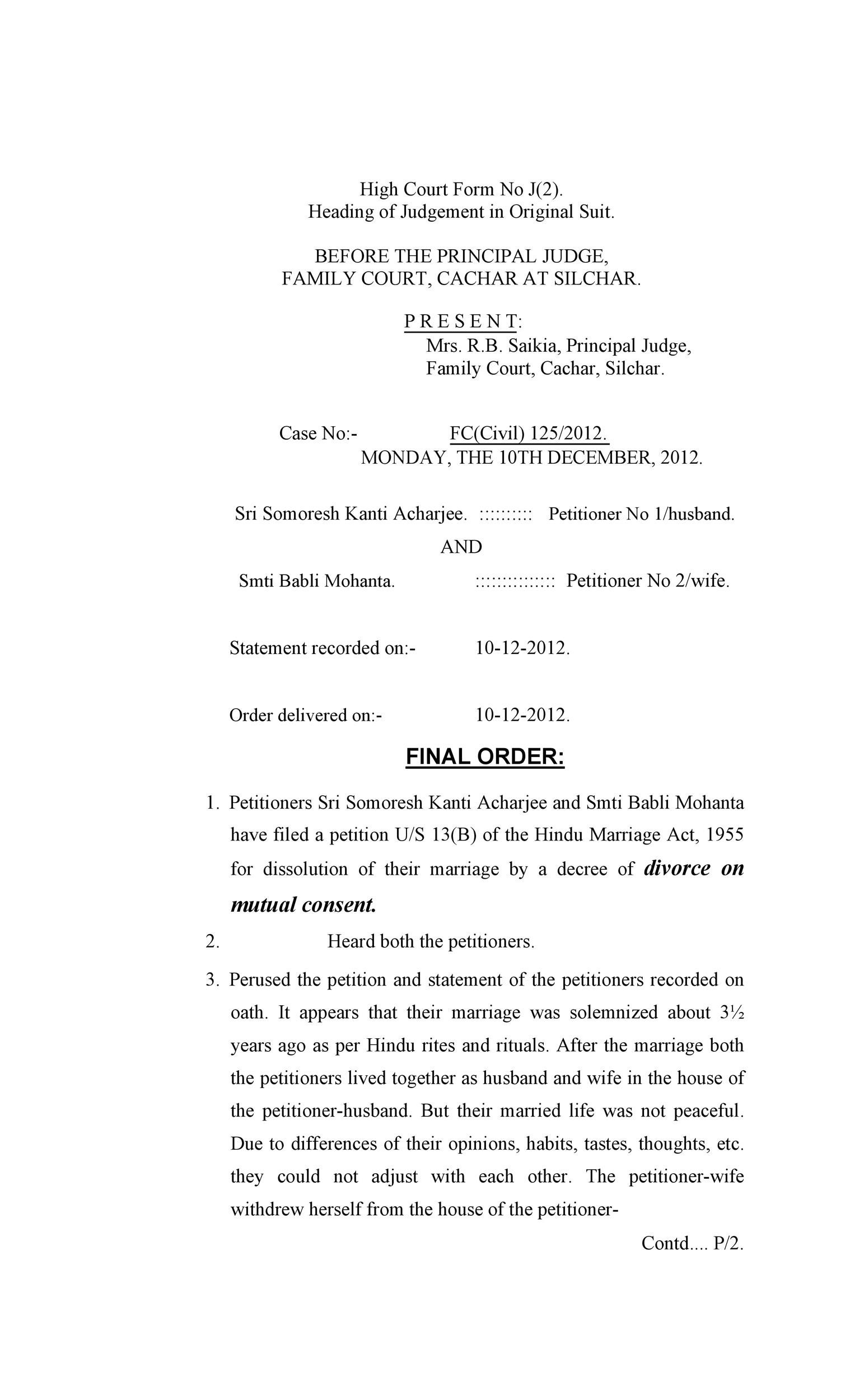 Free divorce agreement 38