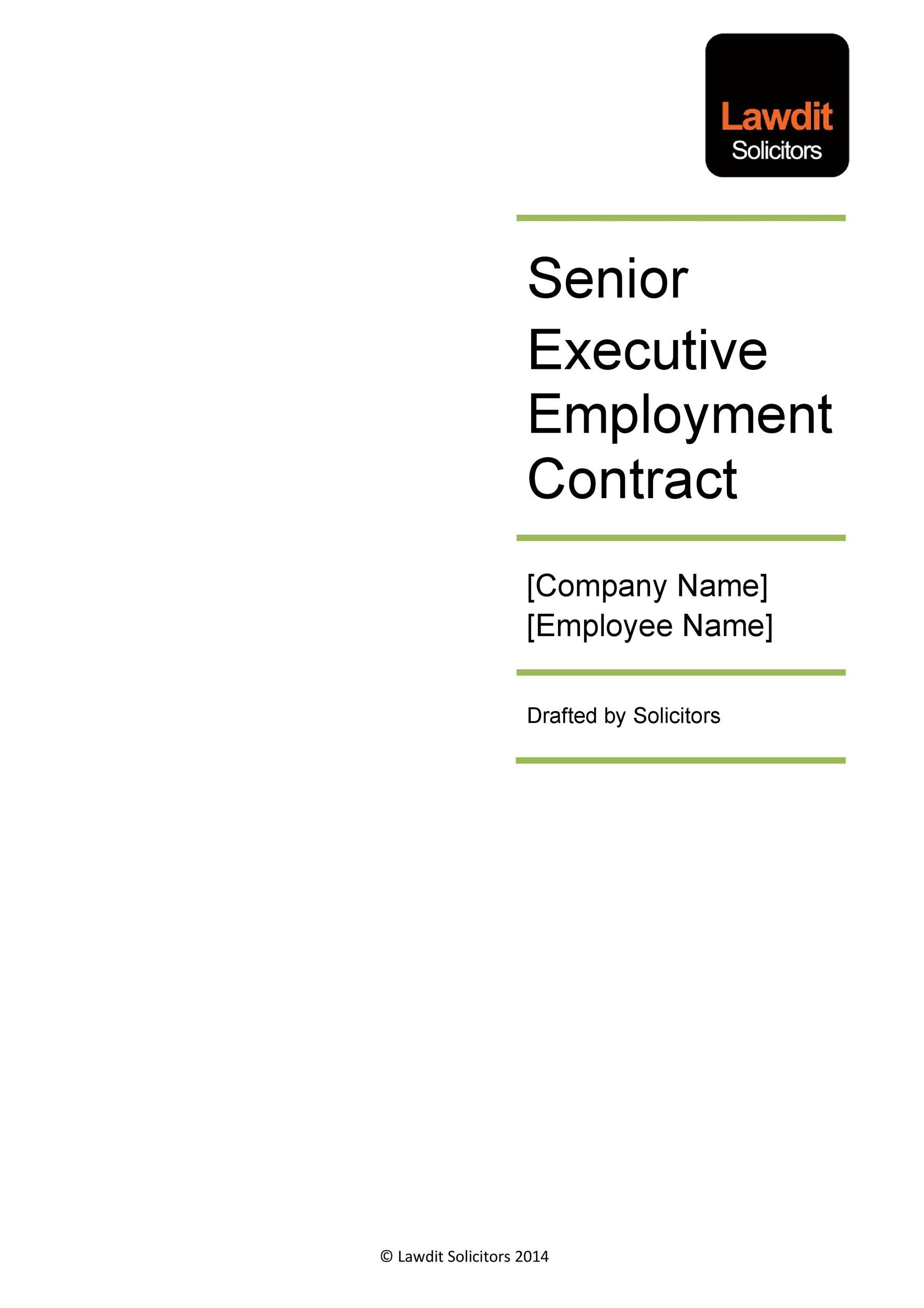 Free employment contract 19