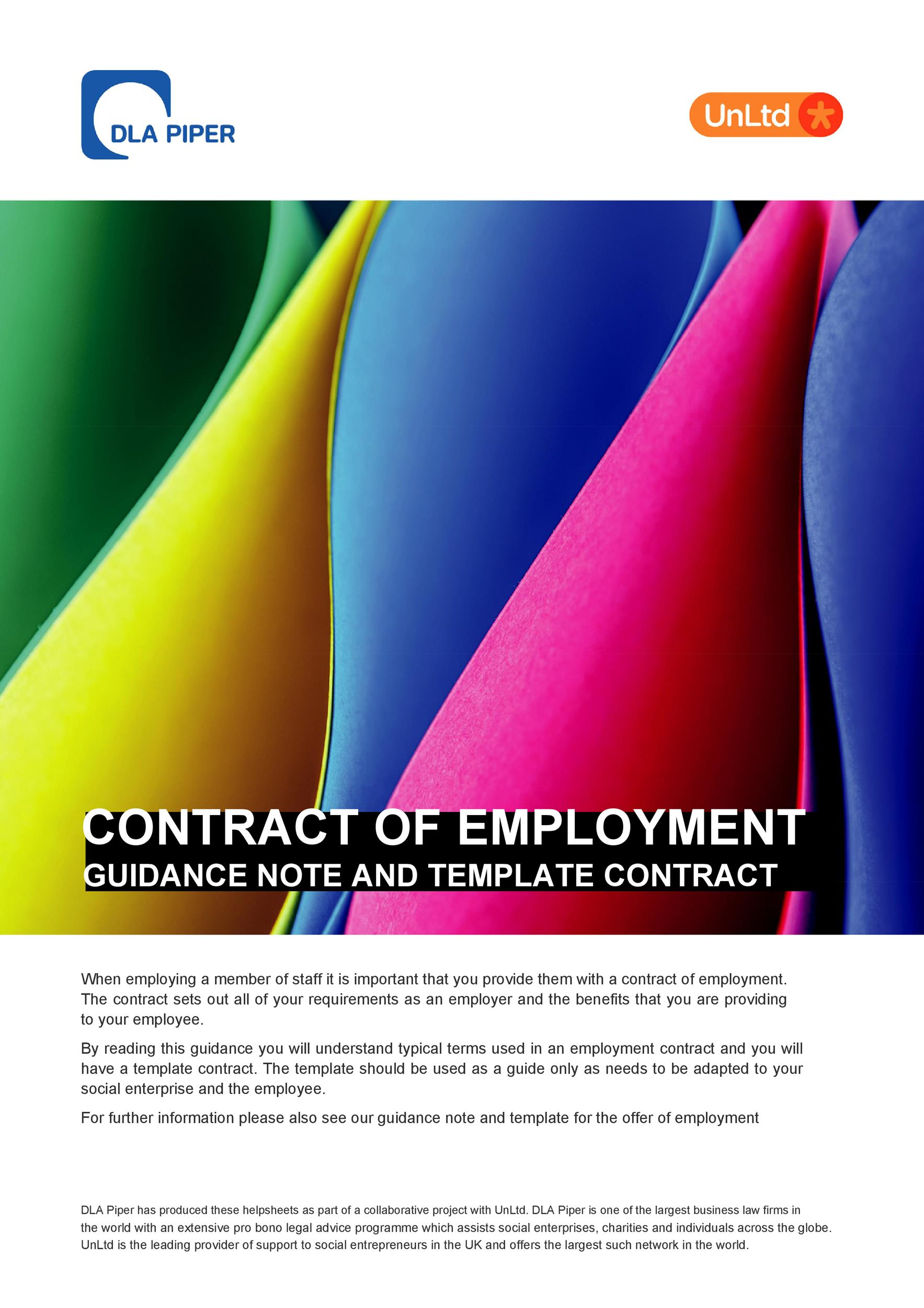 Free employment contract 36