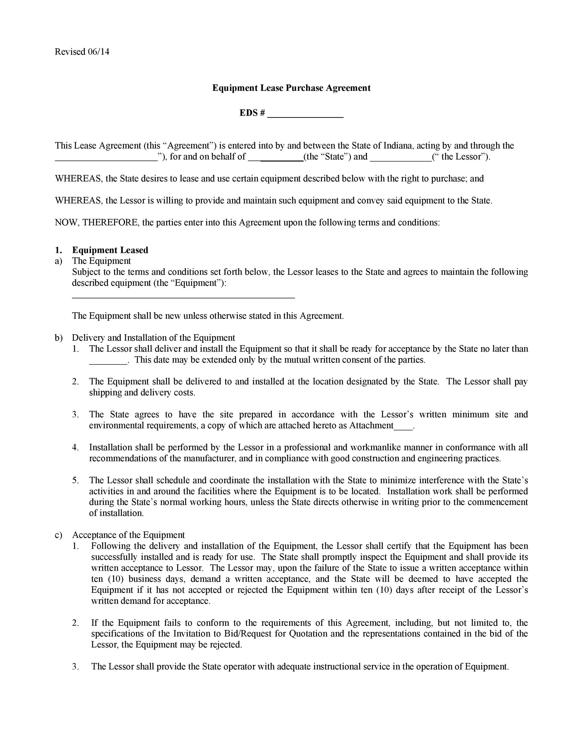 Free equipment lease agreement 02
