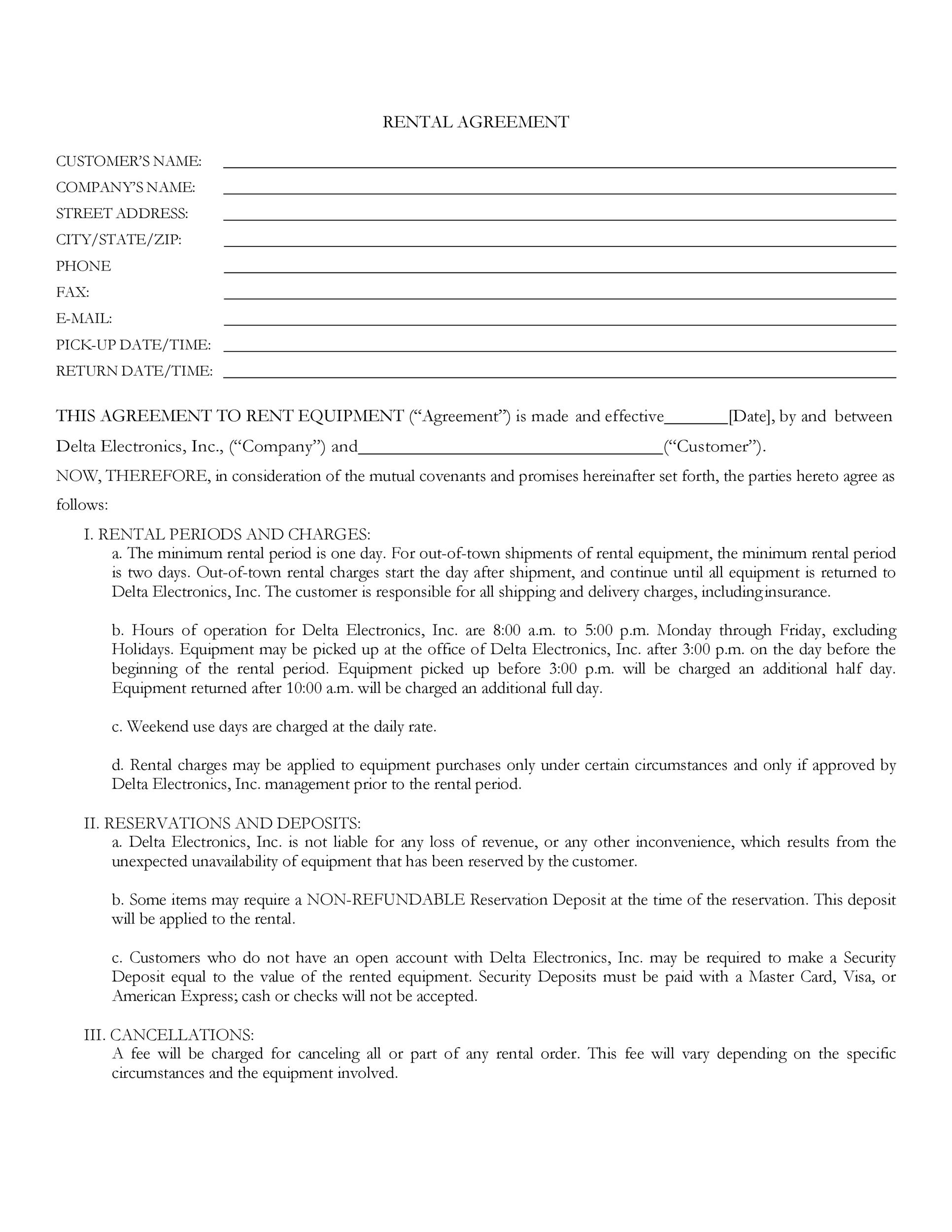 Free equipment lease agreement 40
