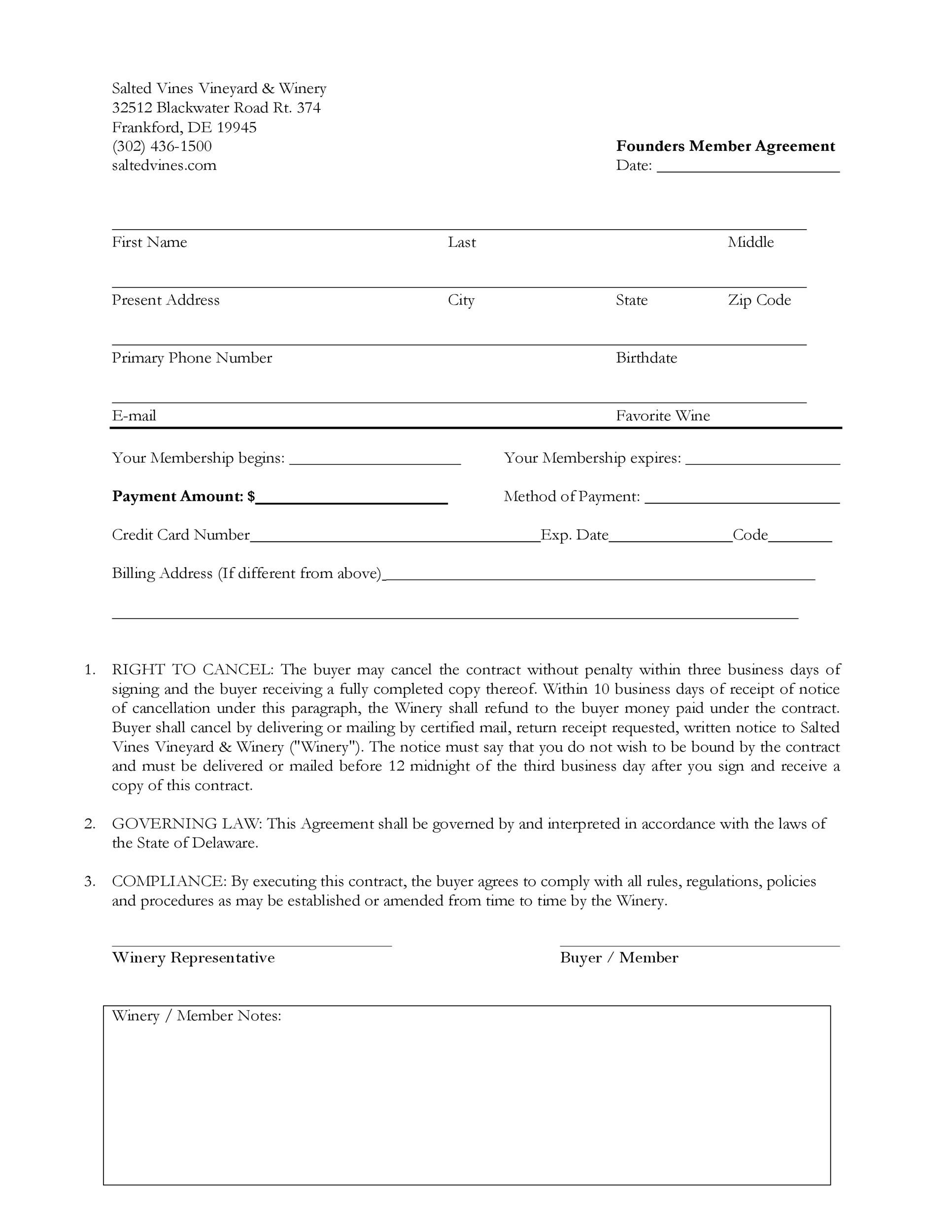 Free founders agreement 14