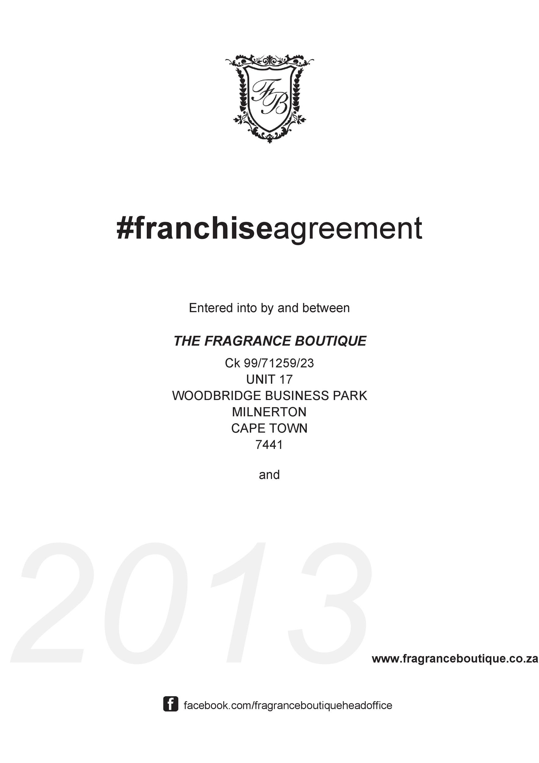 Free franchise agreement 25