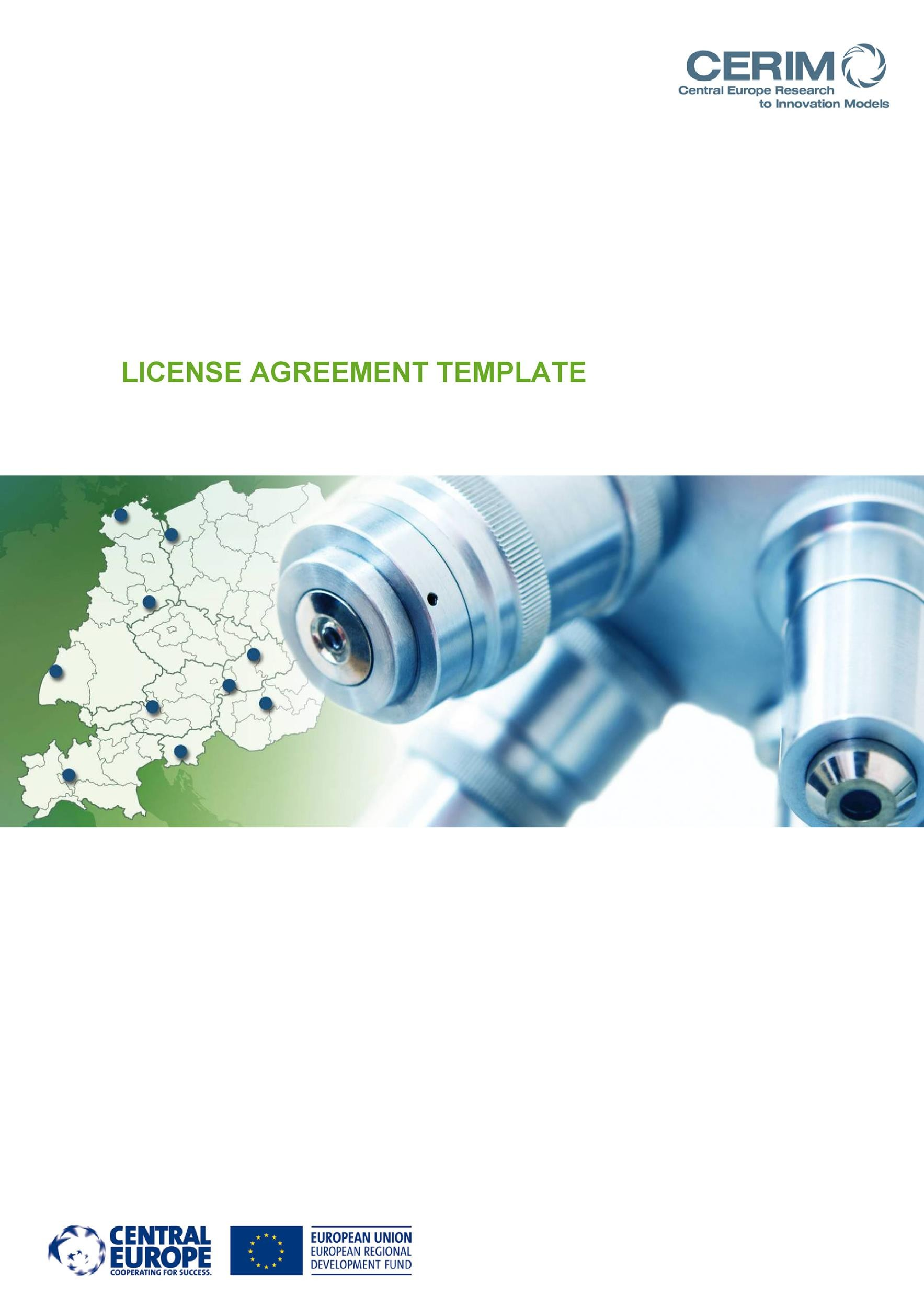 Free license agreement template 03