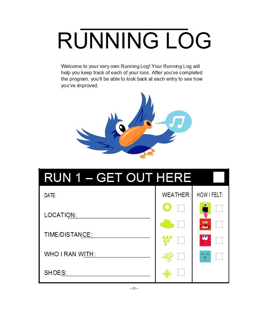 Free running log 07