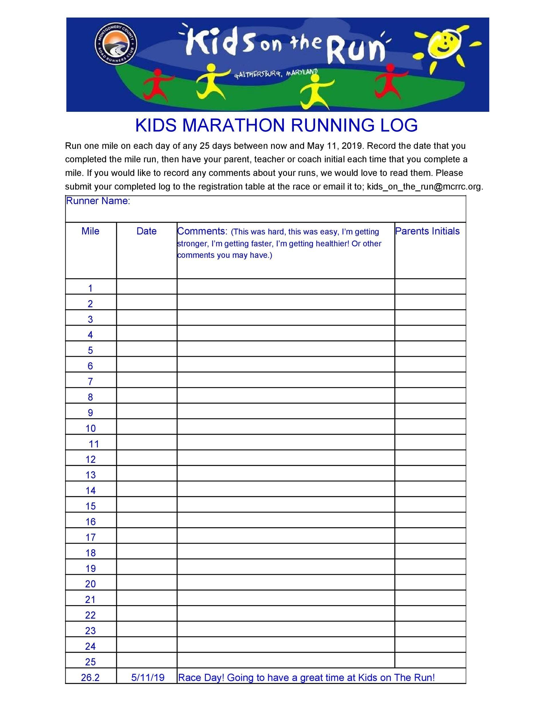 Free running log 10
