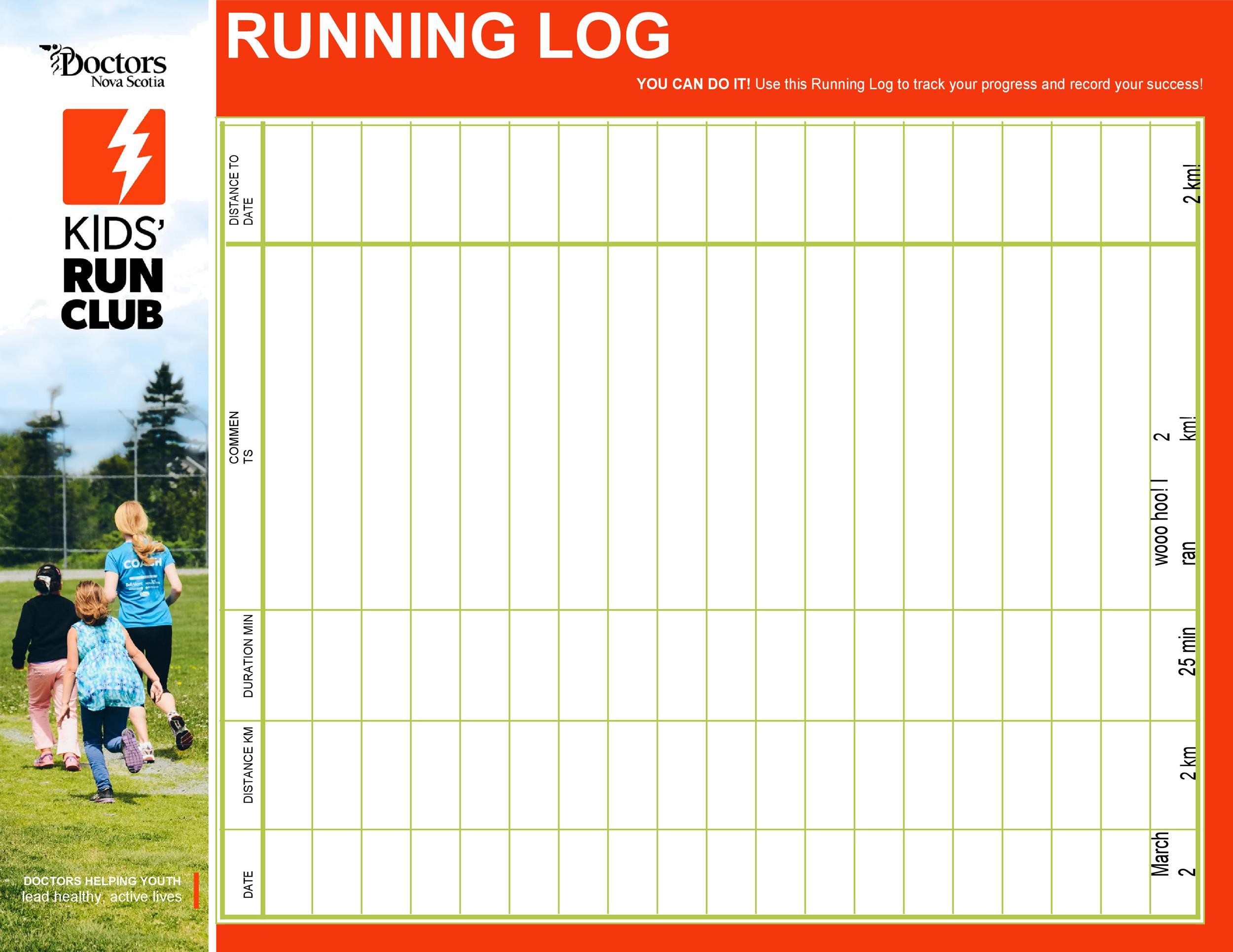 Free running log 13
