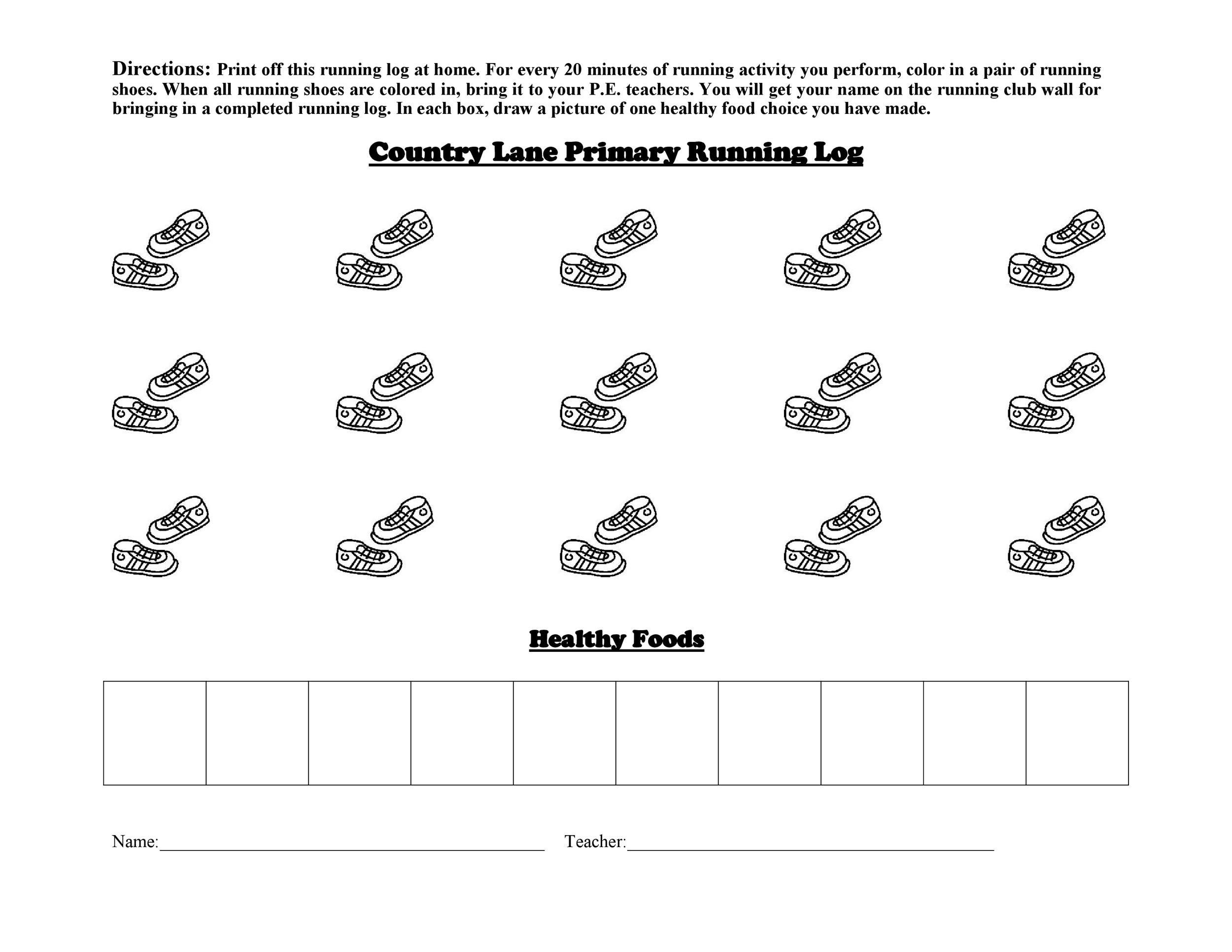Free running log 24