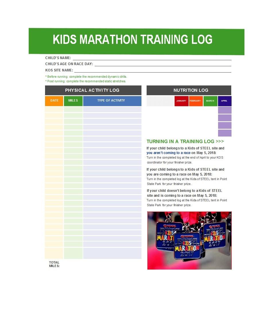 Free running log 32
