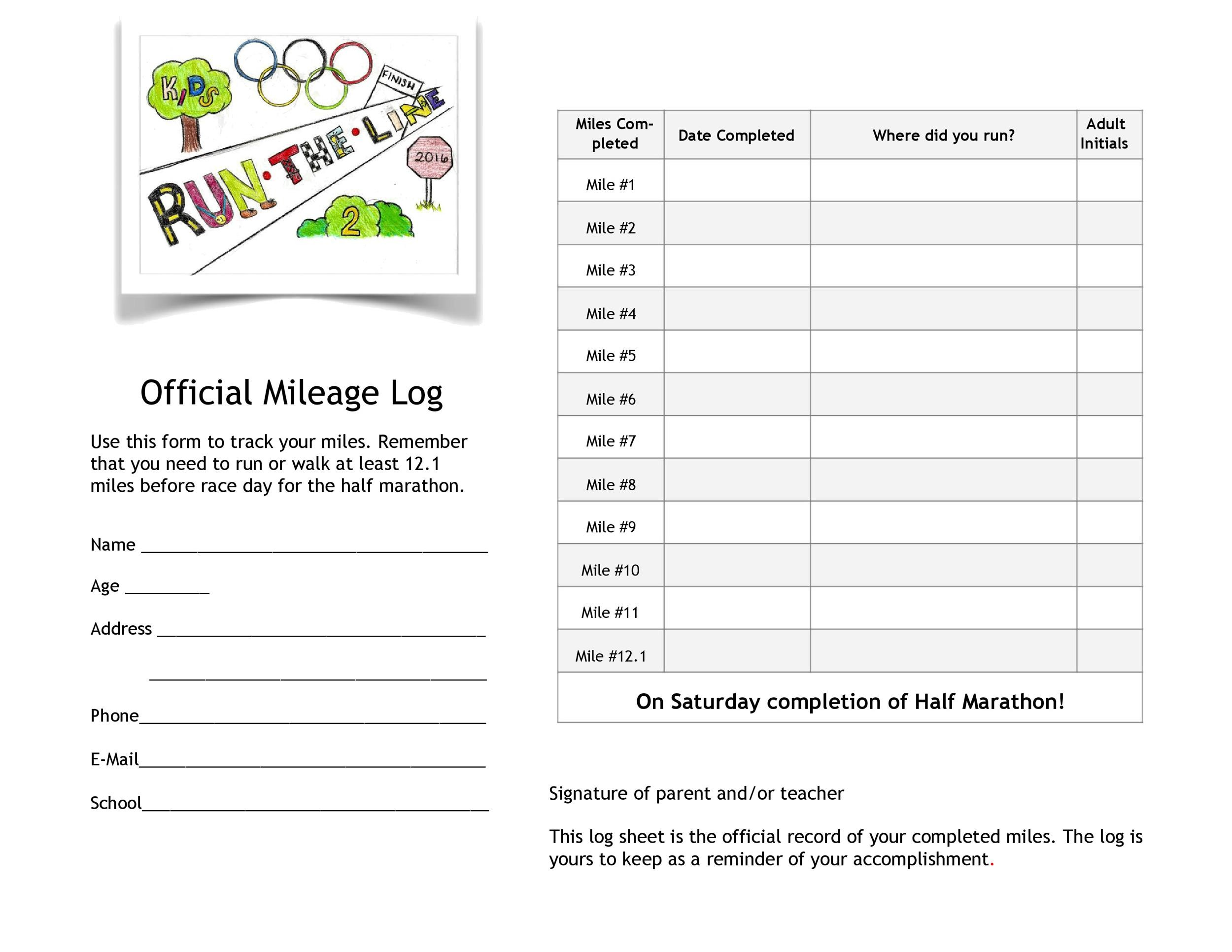 Free running log 44