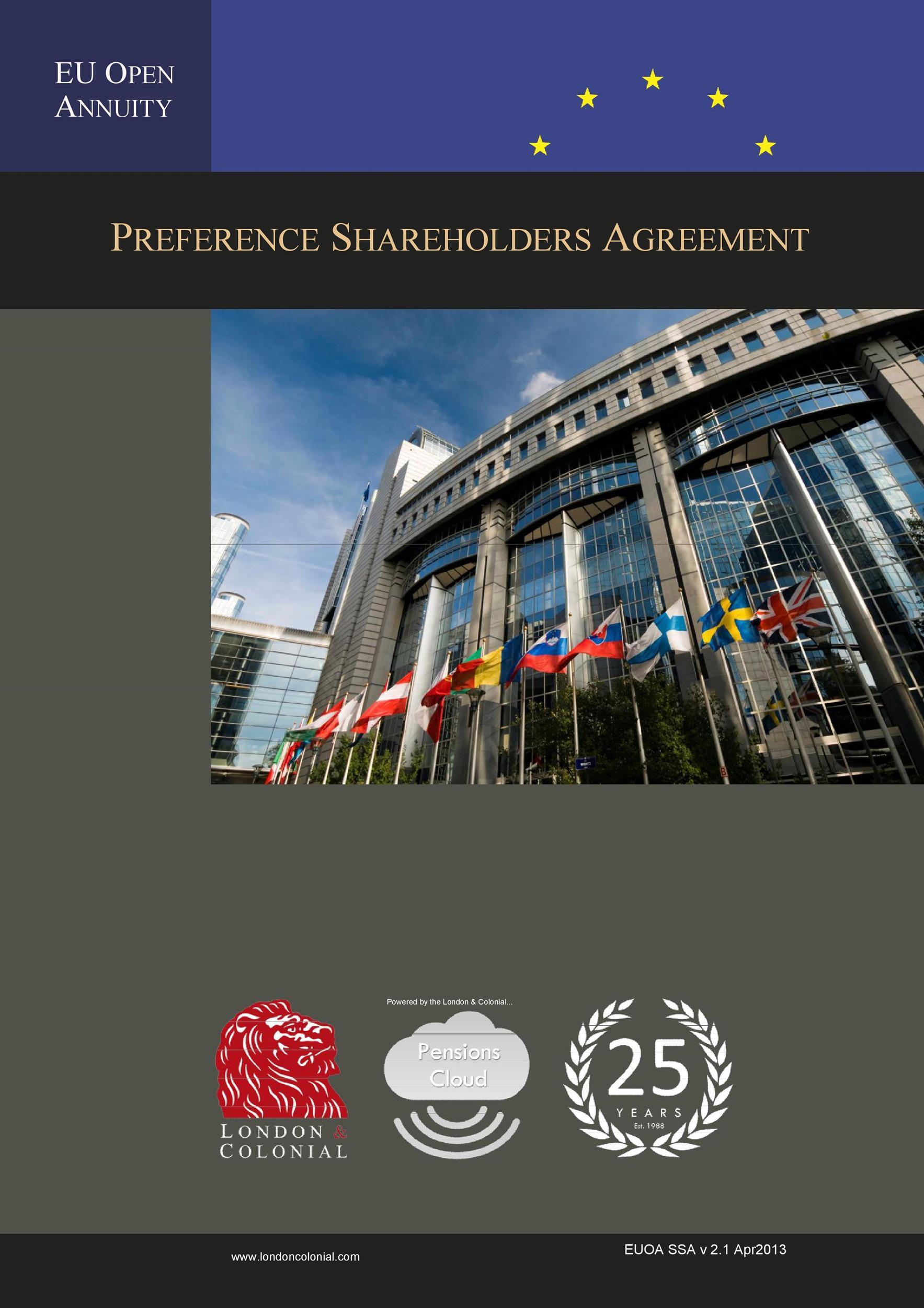 Free shareholder agreement 29