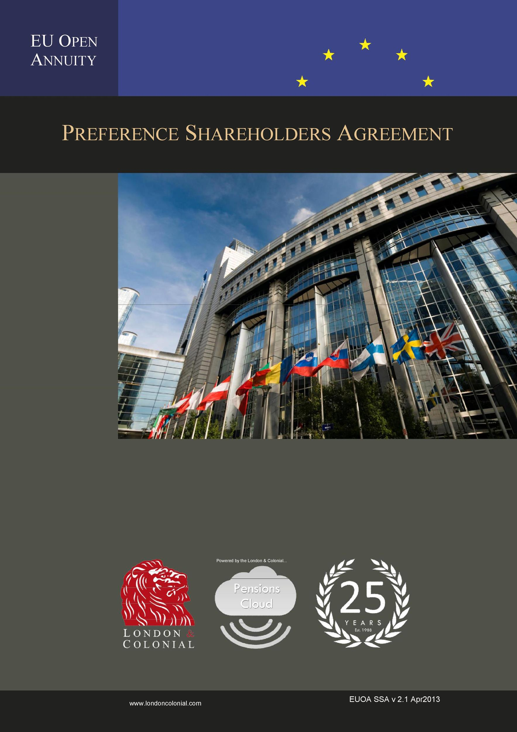 Free shareholder agreement 29