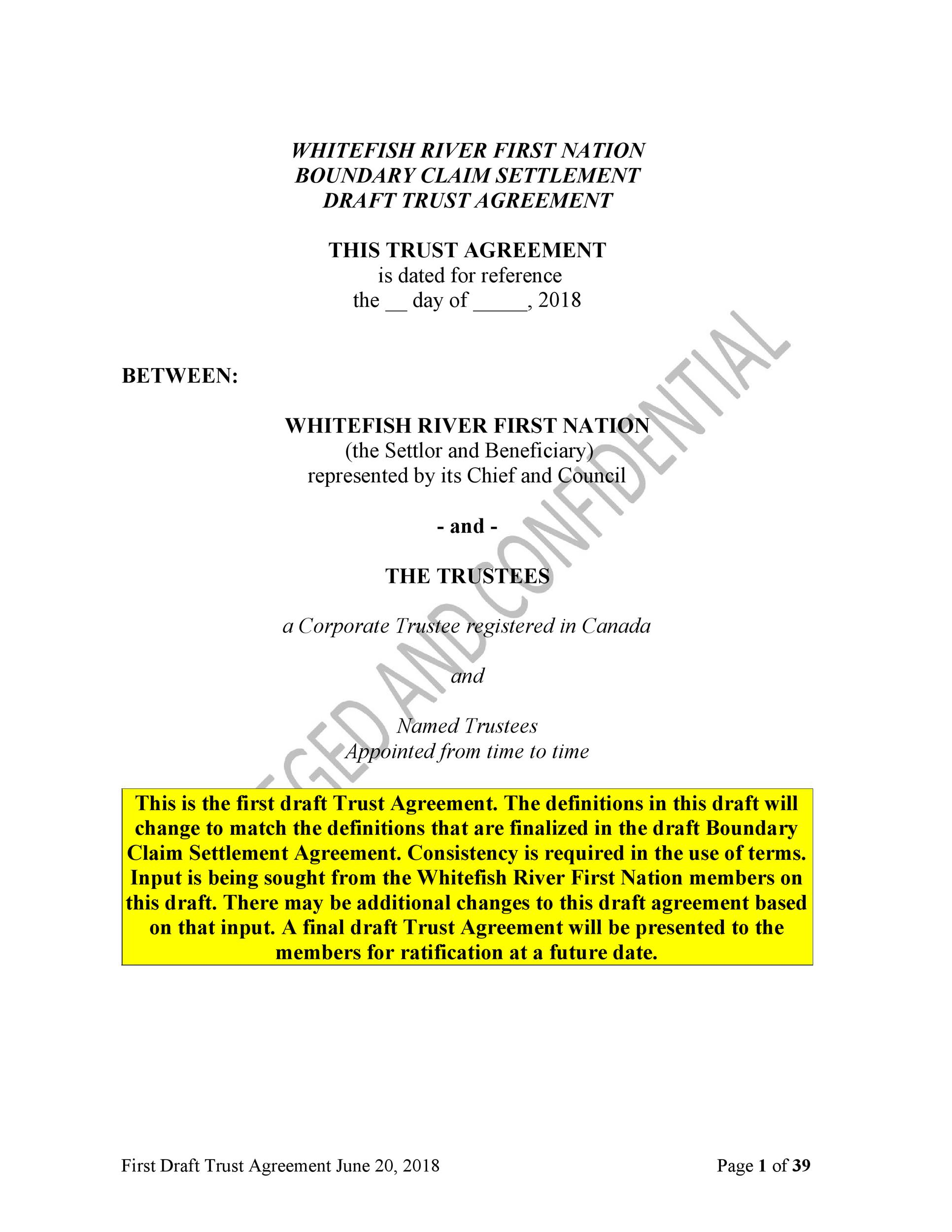 Free trust agreement 16