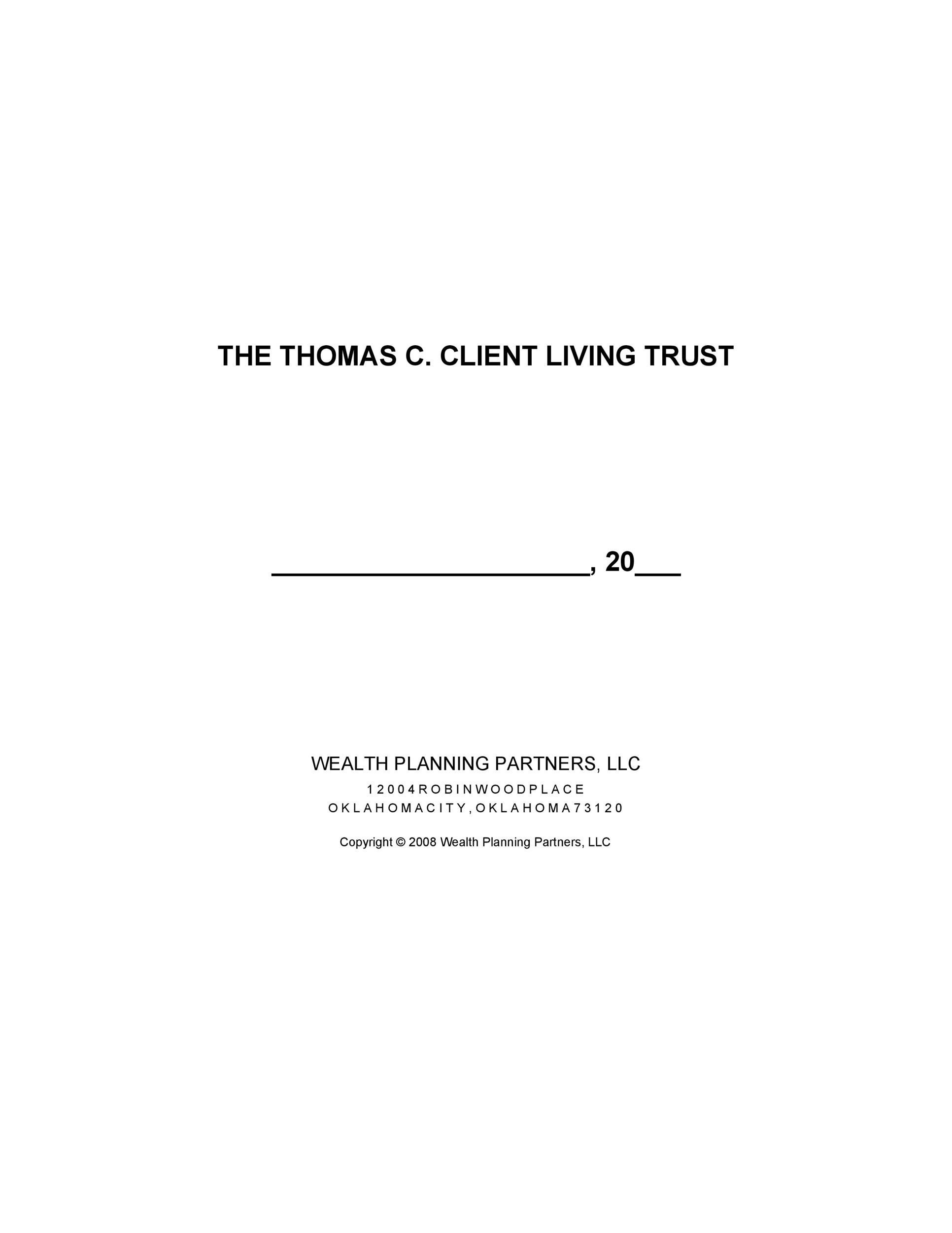 Free trust agreement 17
