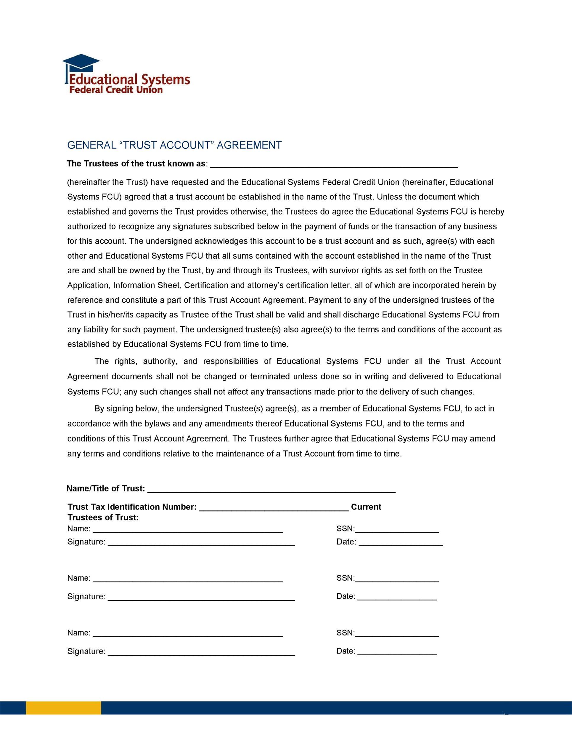 Free trust agreement 26
